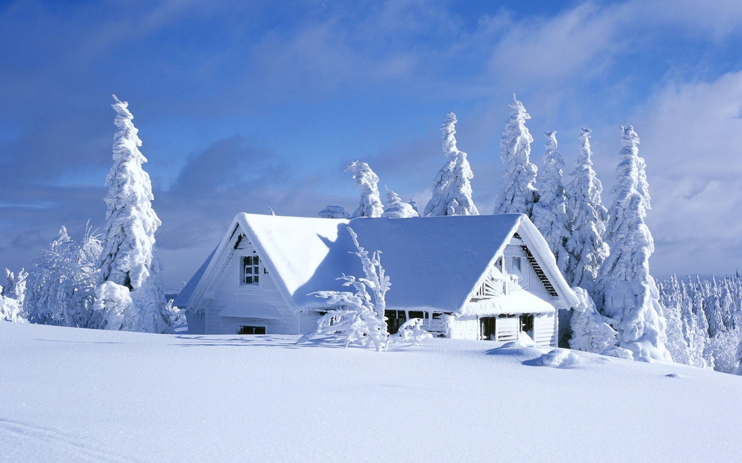 рыбалку, картинка домика в снегу которых
