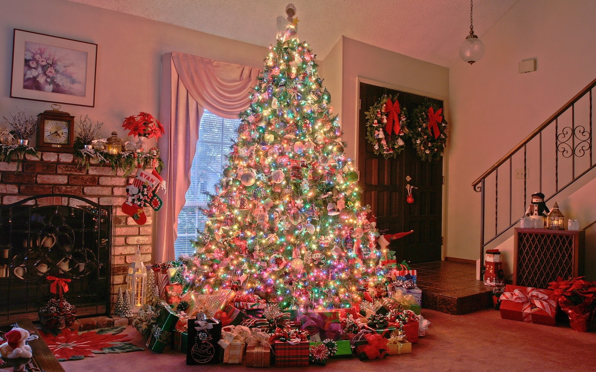 Новогодняя елка открытки и фотографии, эмблемы