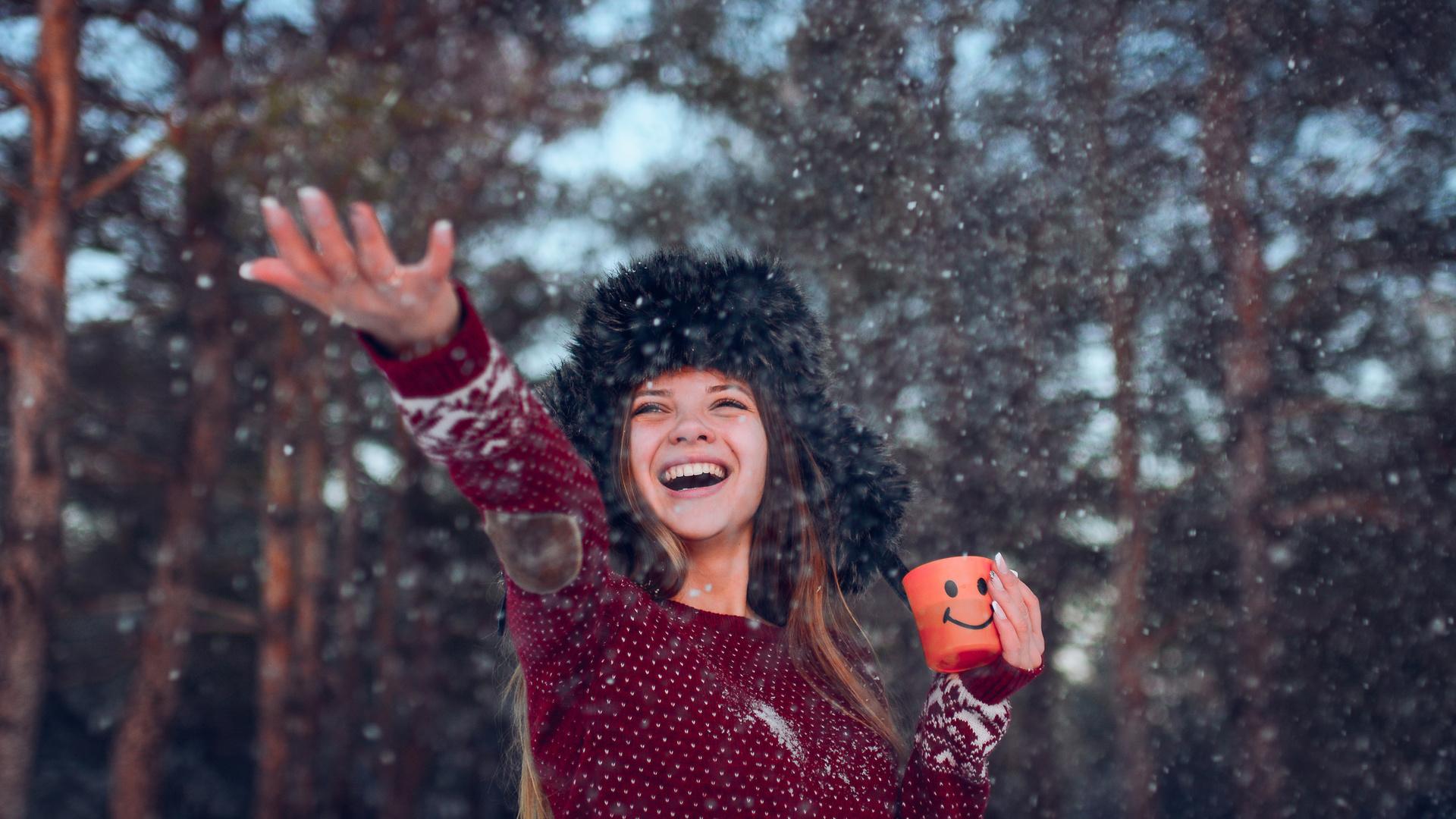 Картинка зимнее счастье