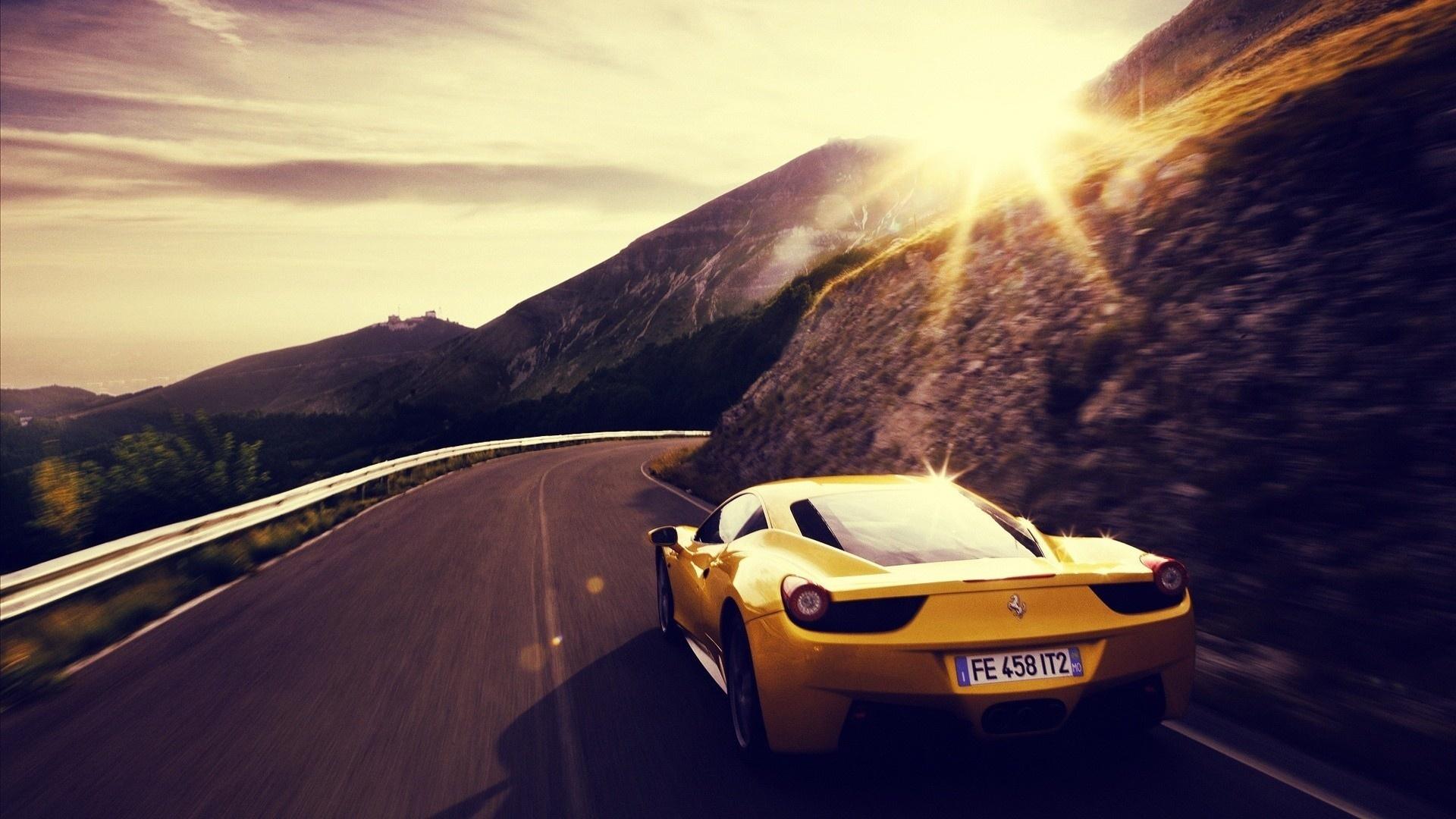 красивые фото в горах крутых авто карте