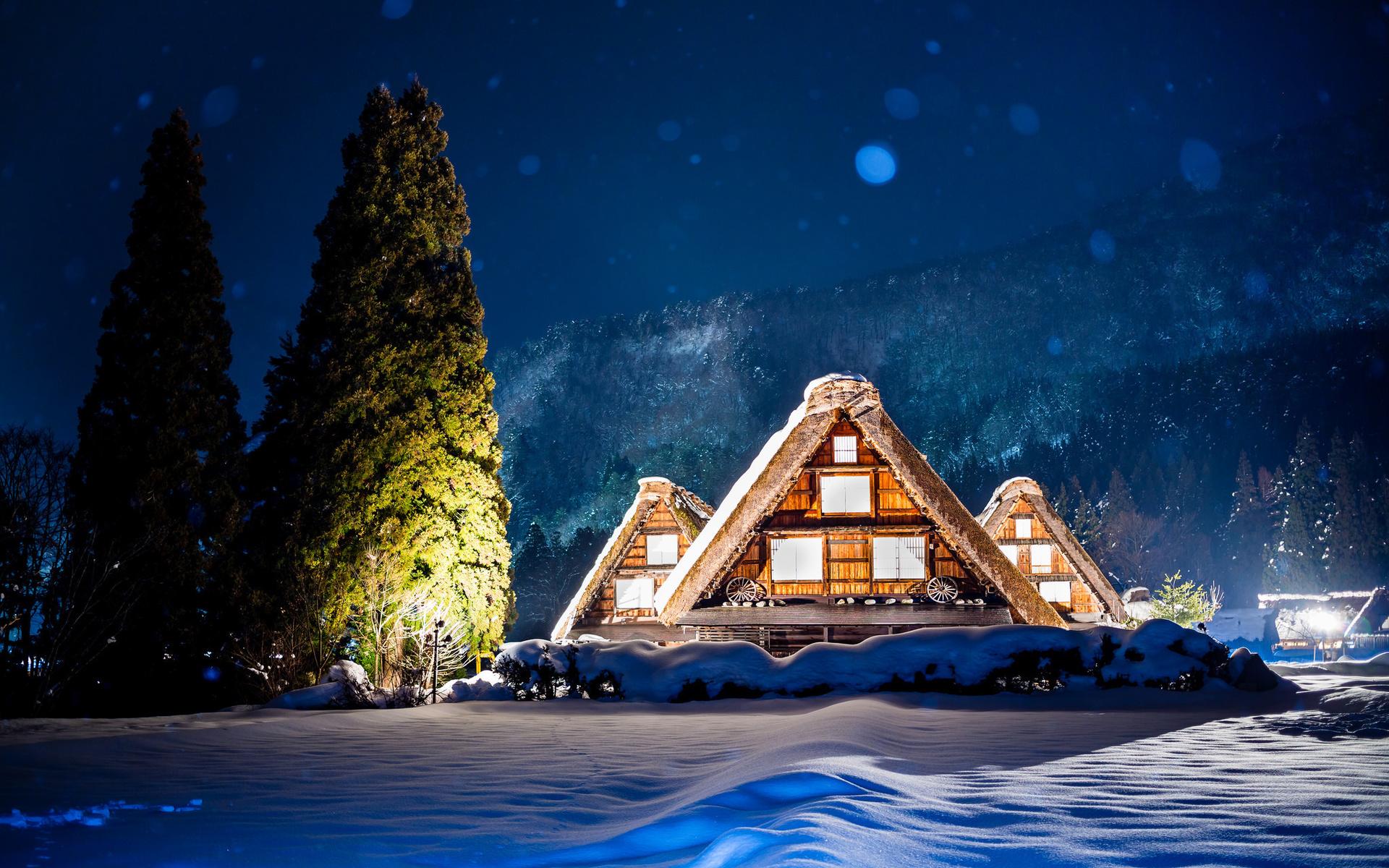 зимний дом фото картинки противном случае