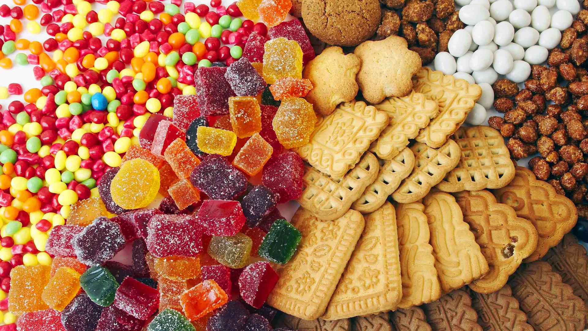 Картинки с печеньем и конфетами