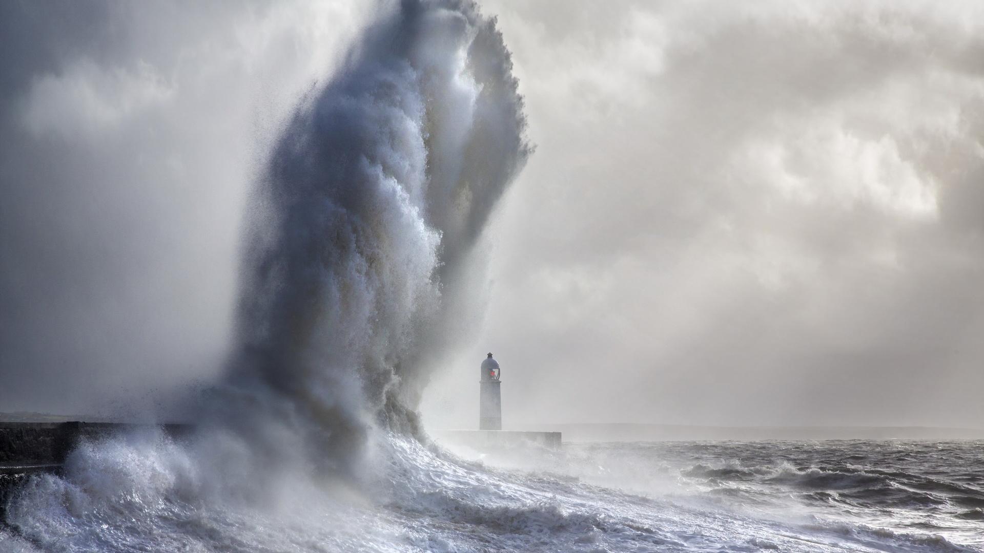 Морские картинки буря шторм
