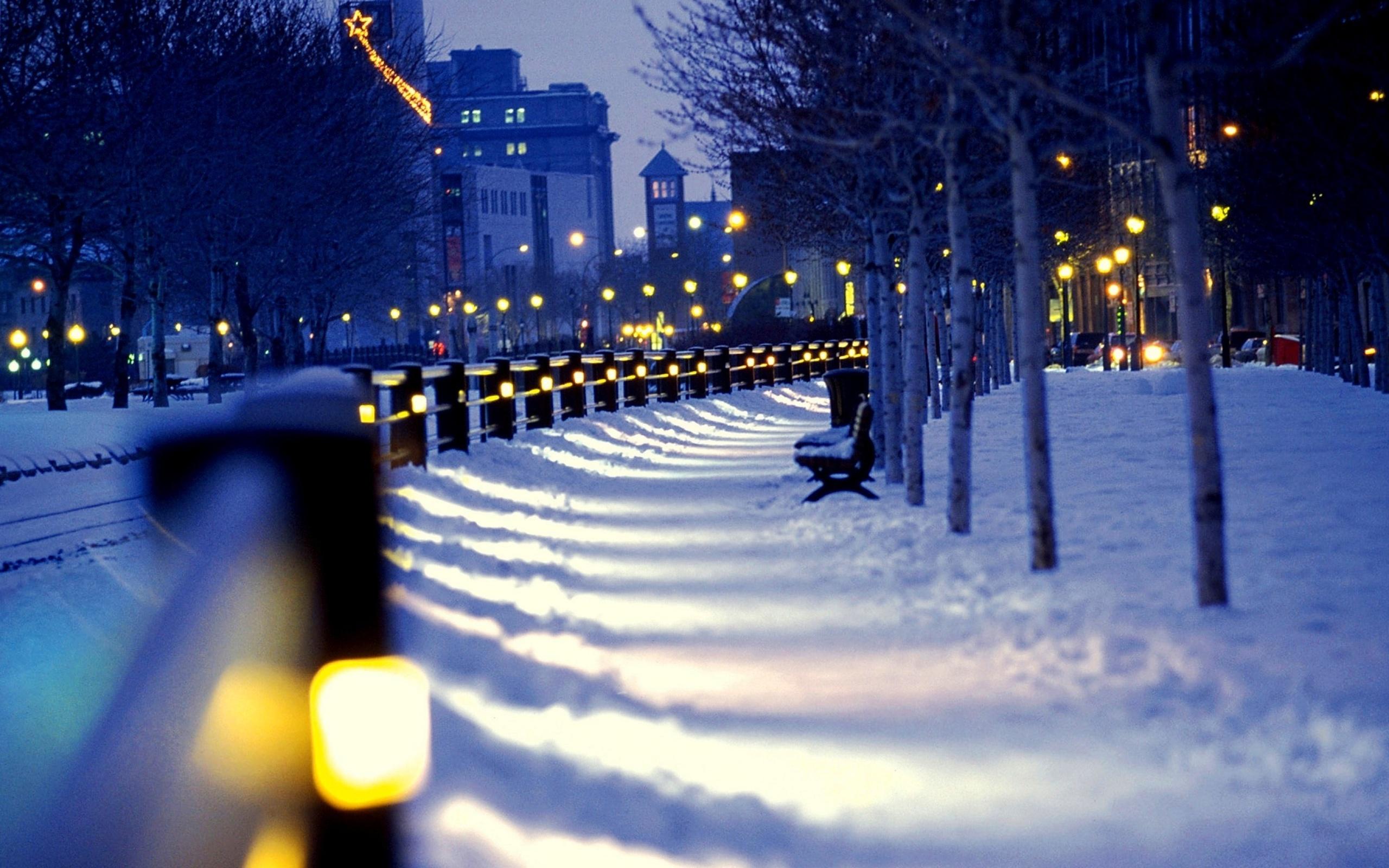 Все картинки зимы в городе приведен
