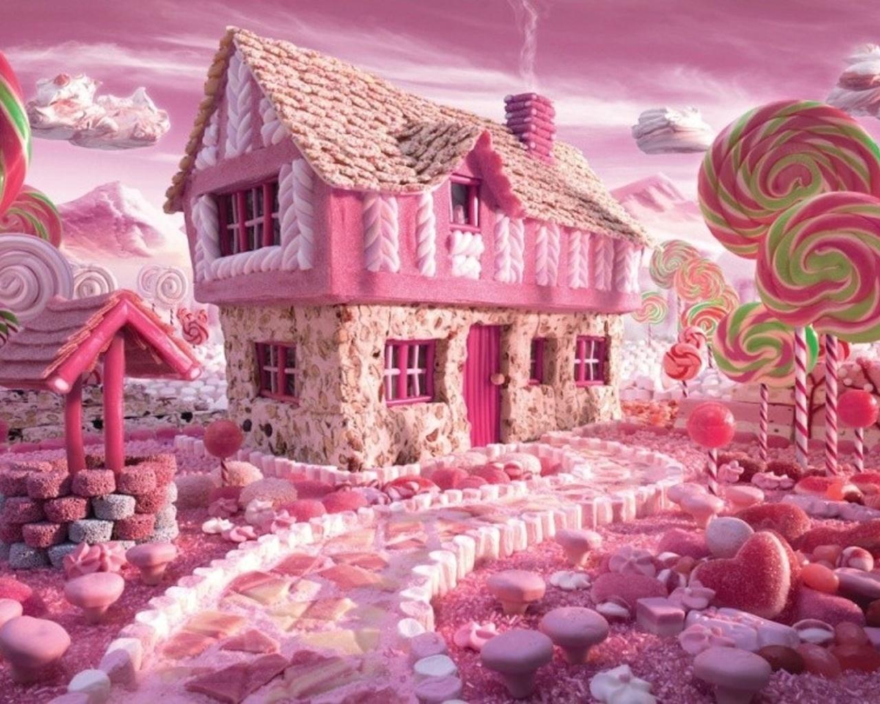 Розовая сказка картинка
