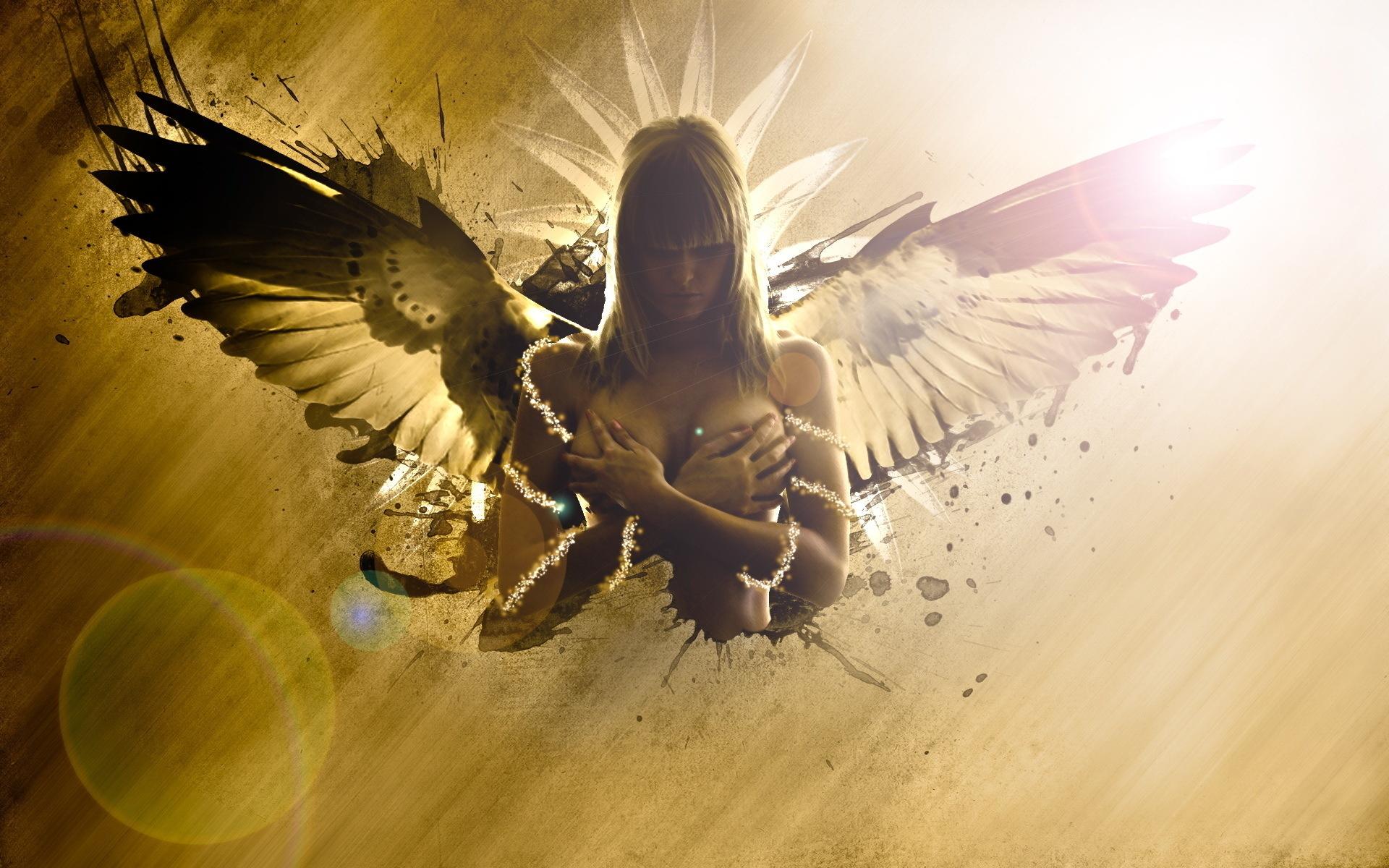 молодых креативные ангелы картинки сила это