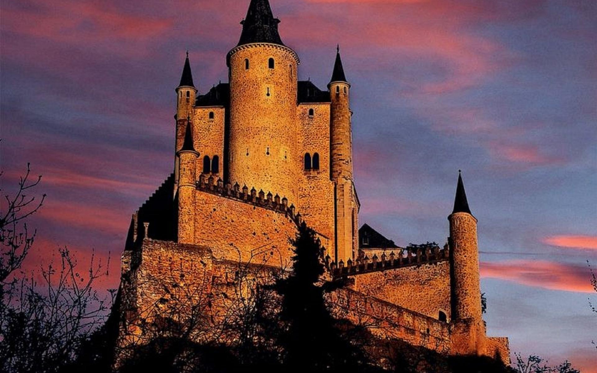Красивый замок картинка