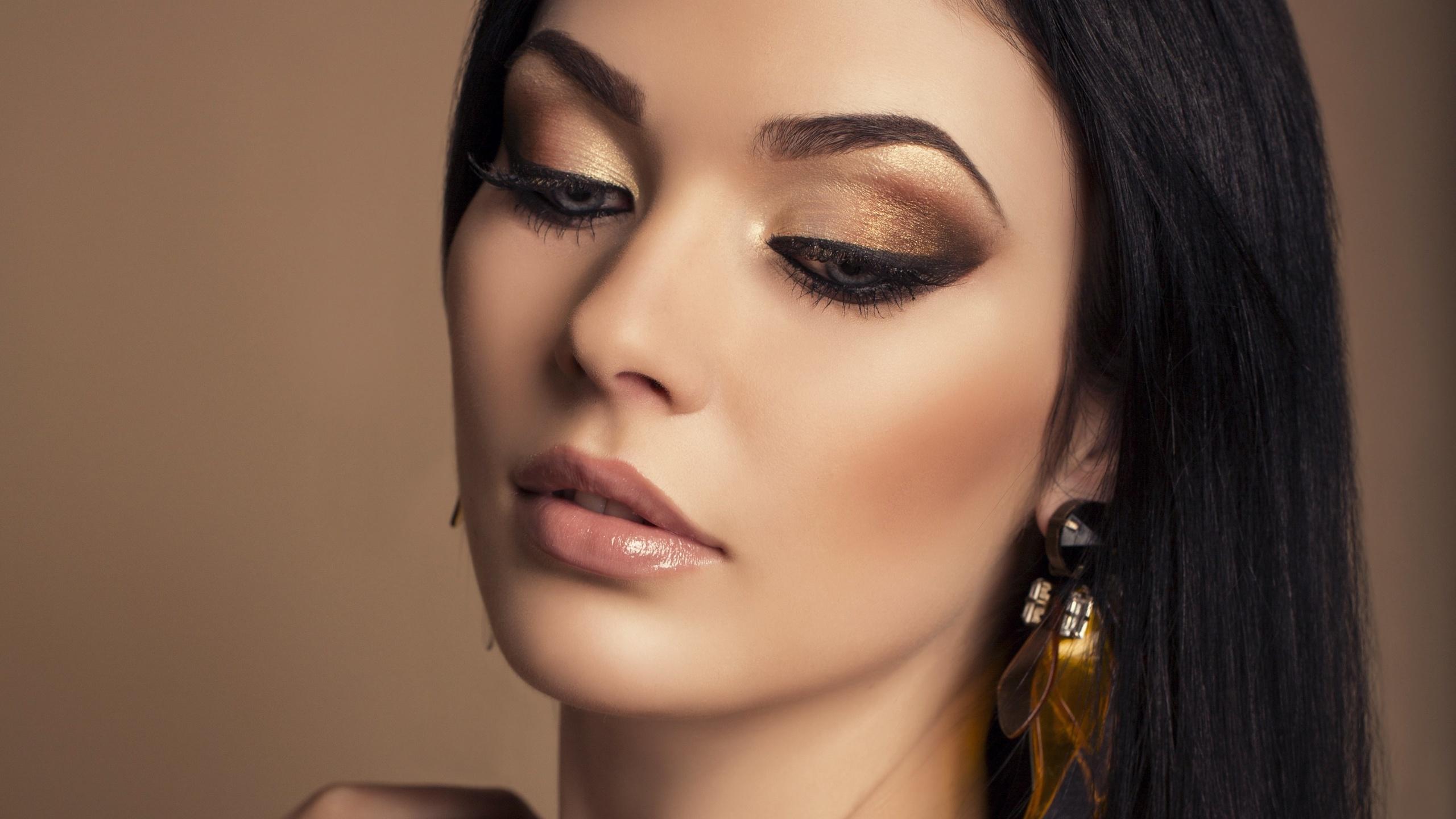 вечерний макияж фото в картинках вдвое