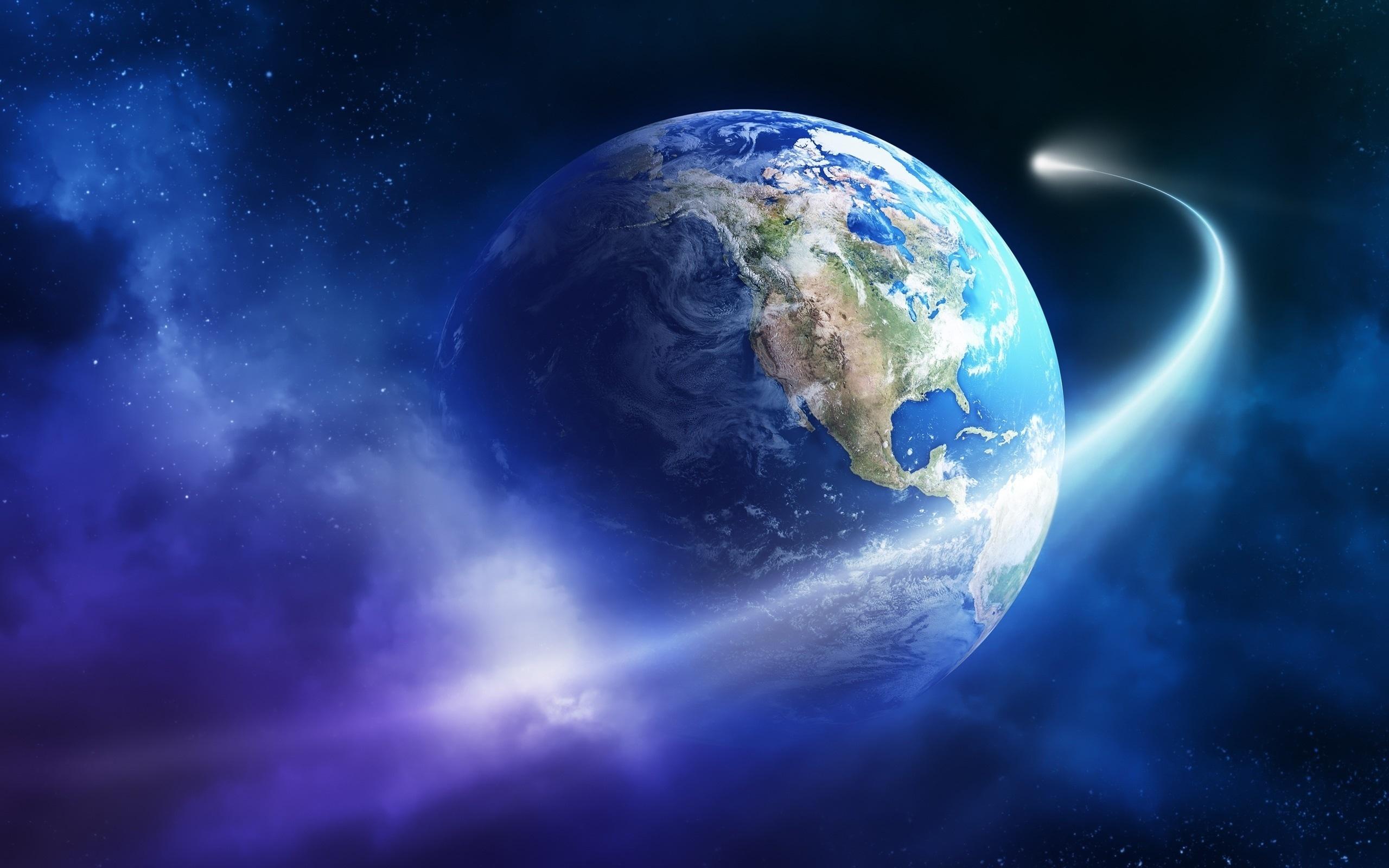 картинка планета земля на фоне космоса самая