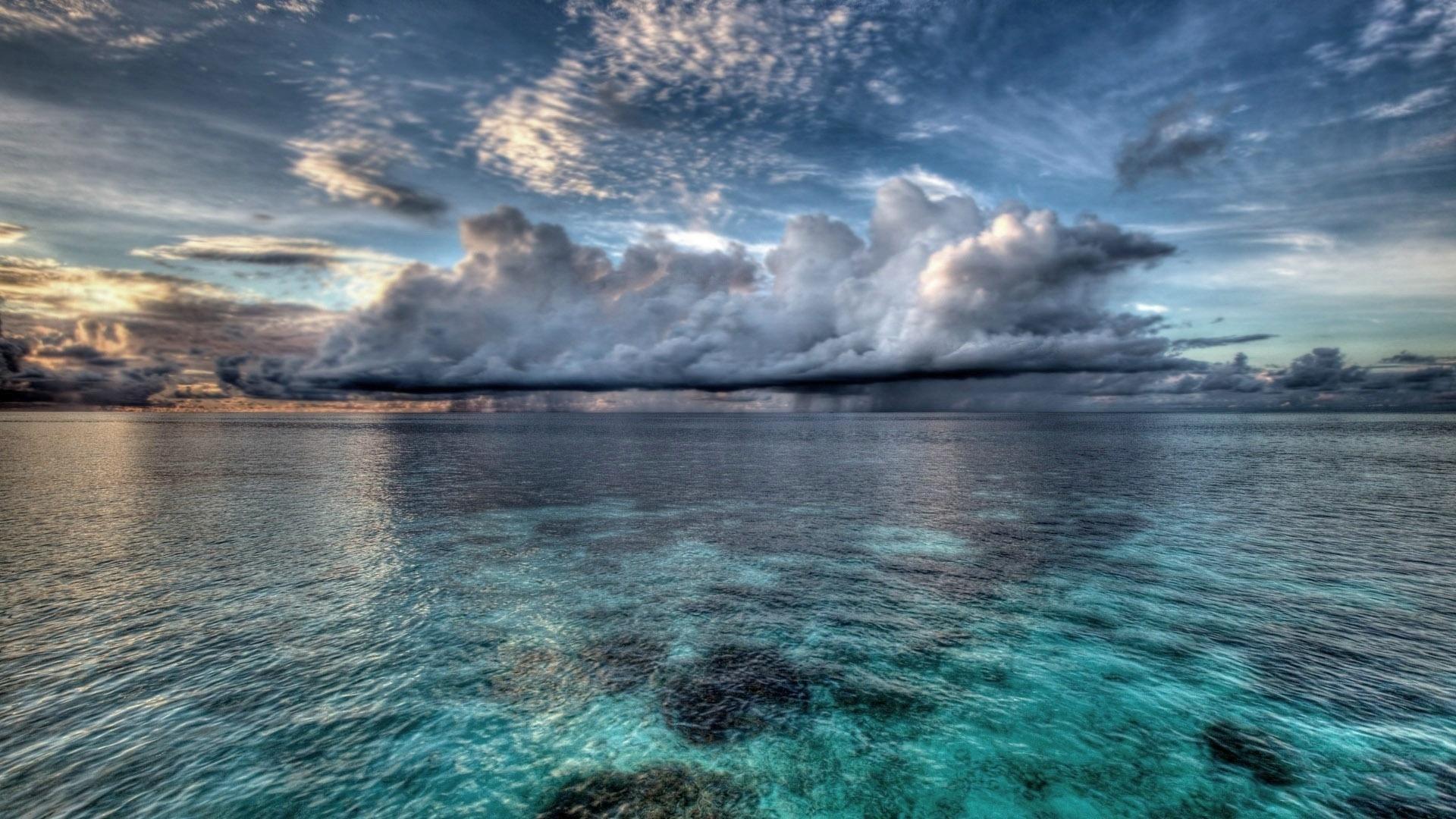 широкоформатные картинки океана таких помещениях