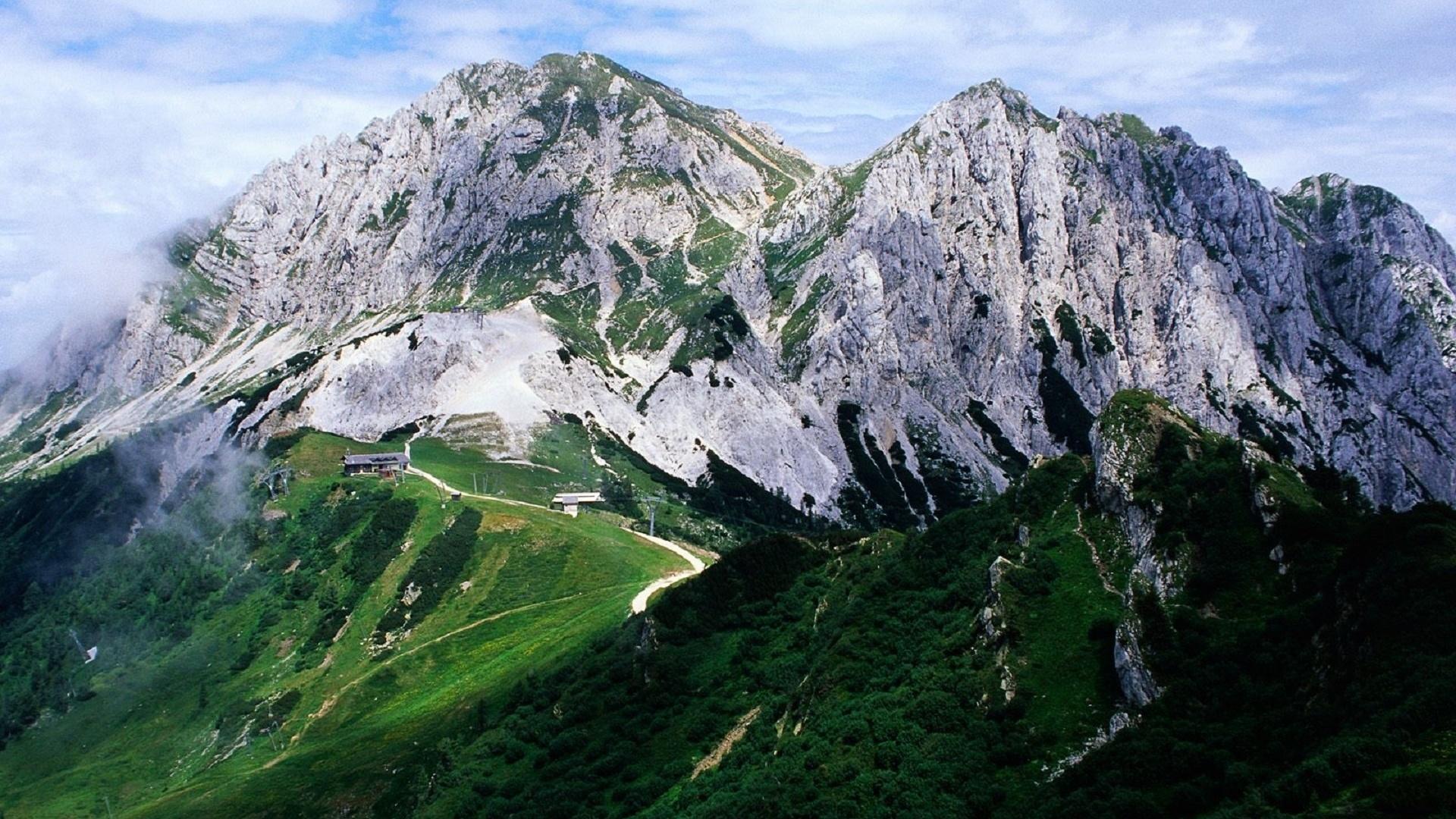 Поздравление, открытки альпы
