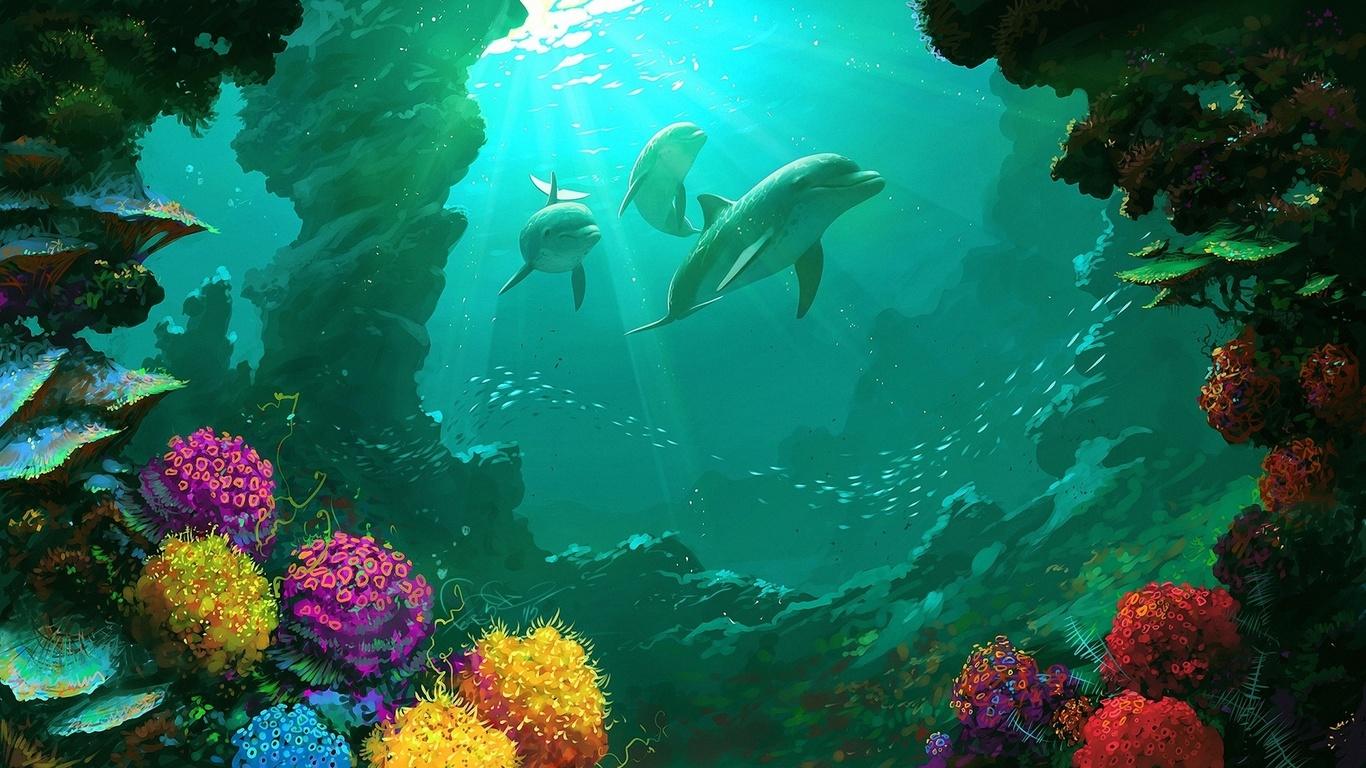 картинки под морем больше капроновых