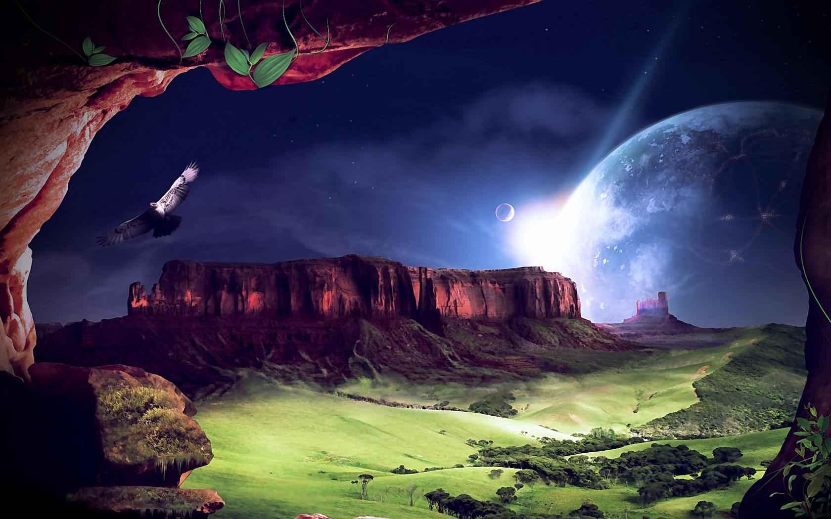 Картинки необычной планеты