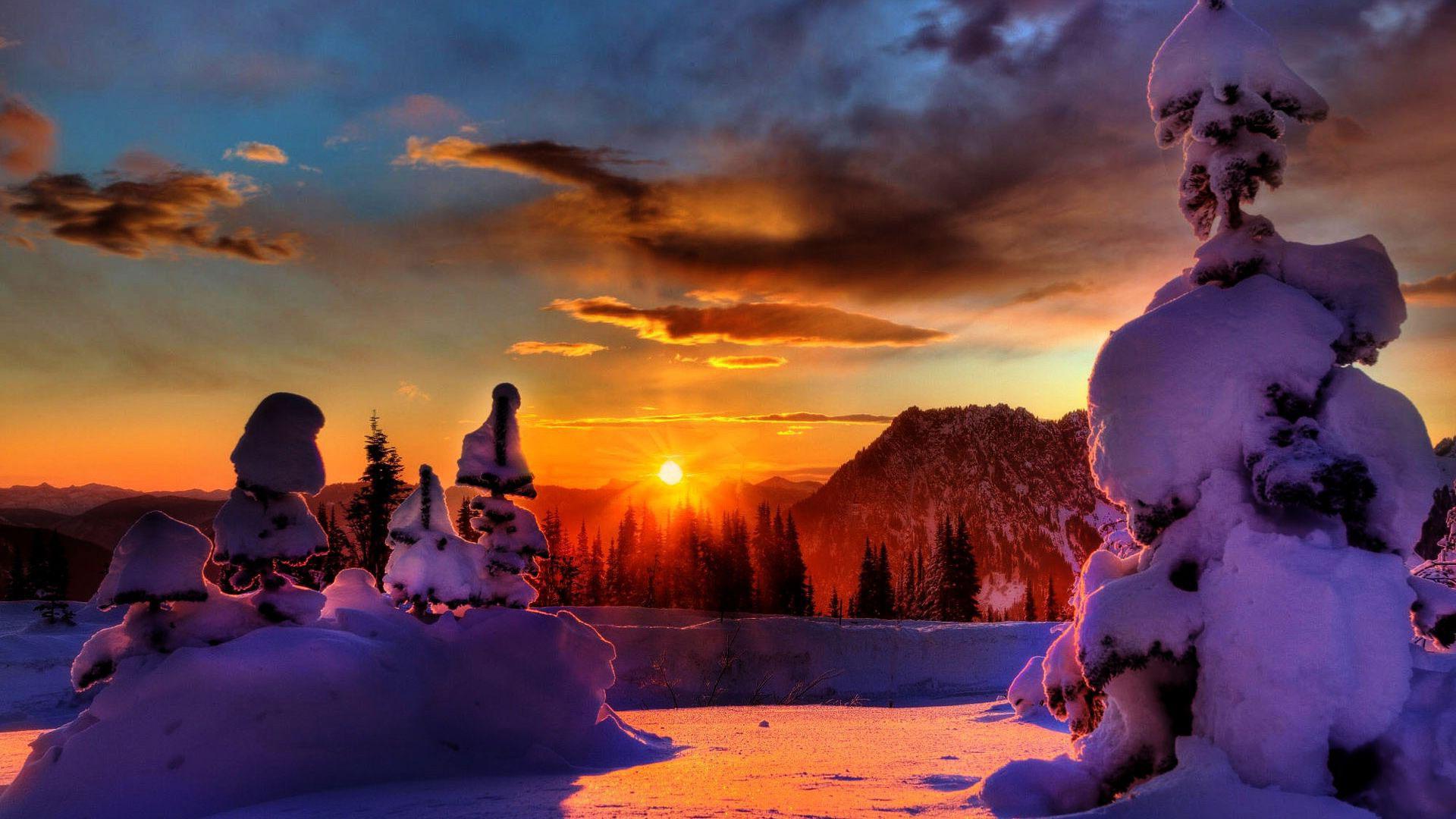 Зимние картинки красивые интересные новые