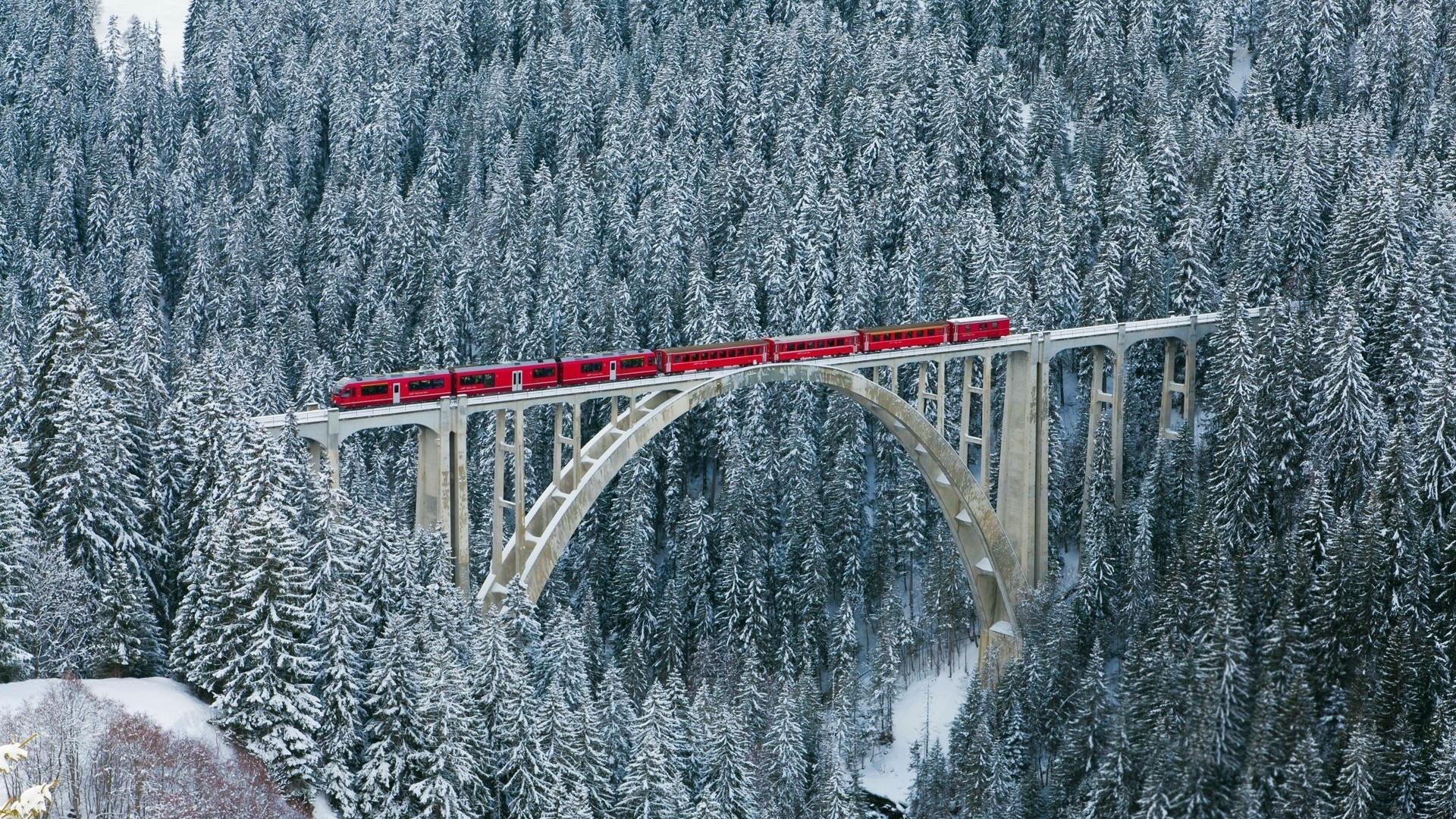 нас фотографии чертова моста в альпах зимой цветами