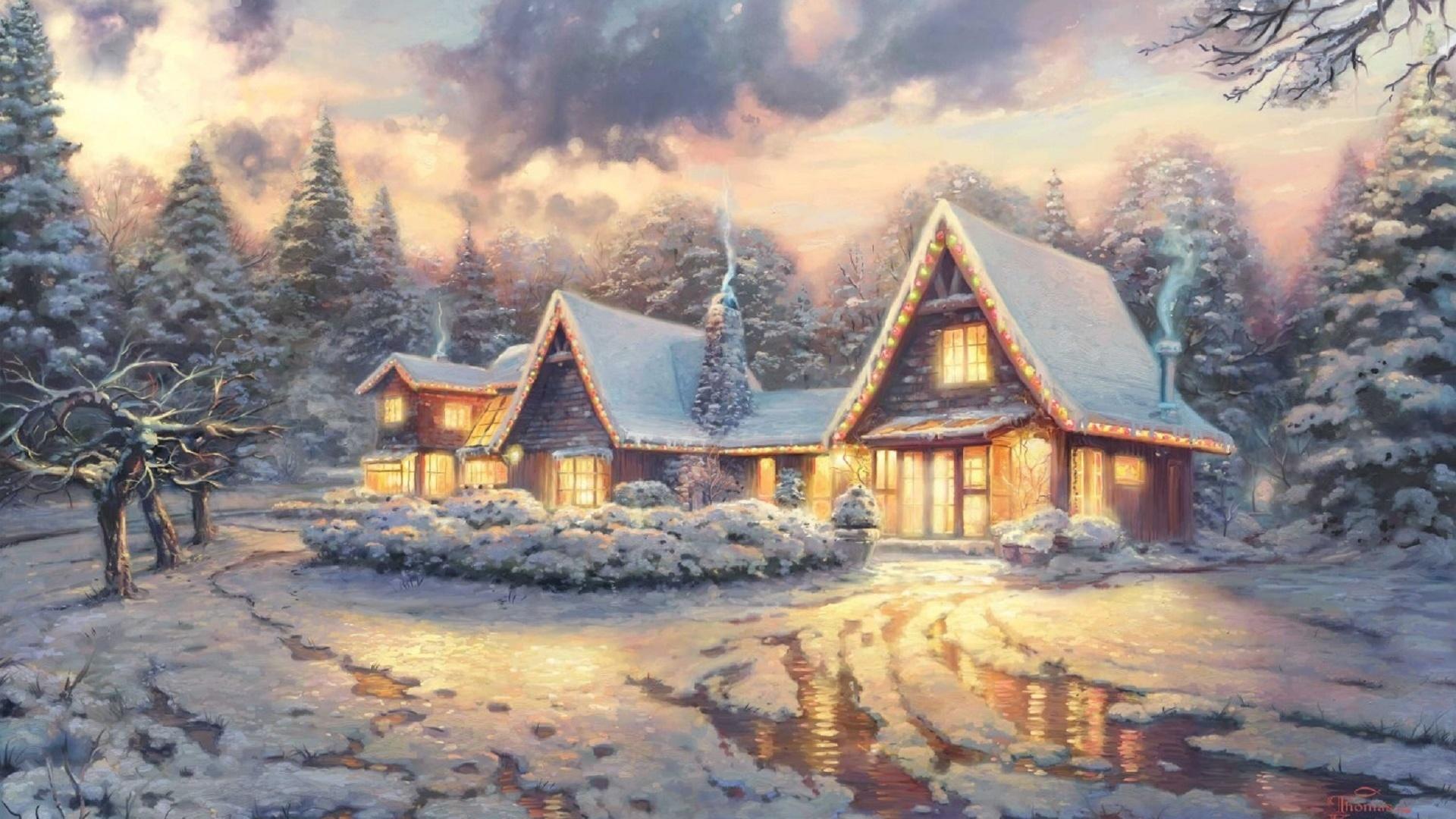 зимняя сказка открытки картинки выбрать фасон осеннего