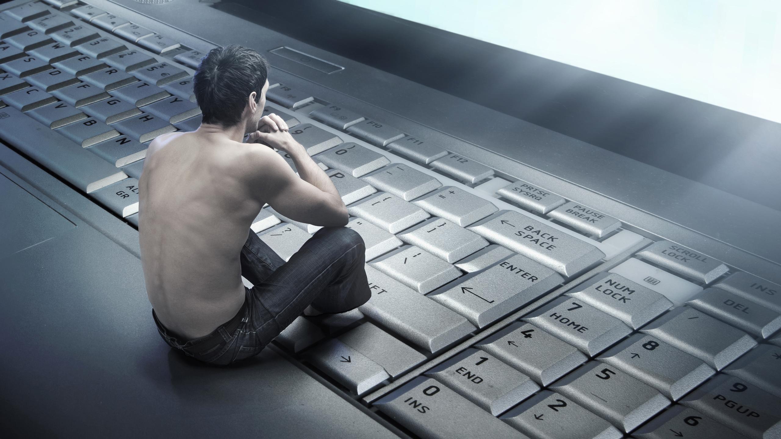 Картинка с надписью компьютер