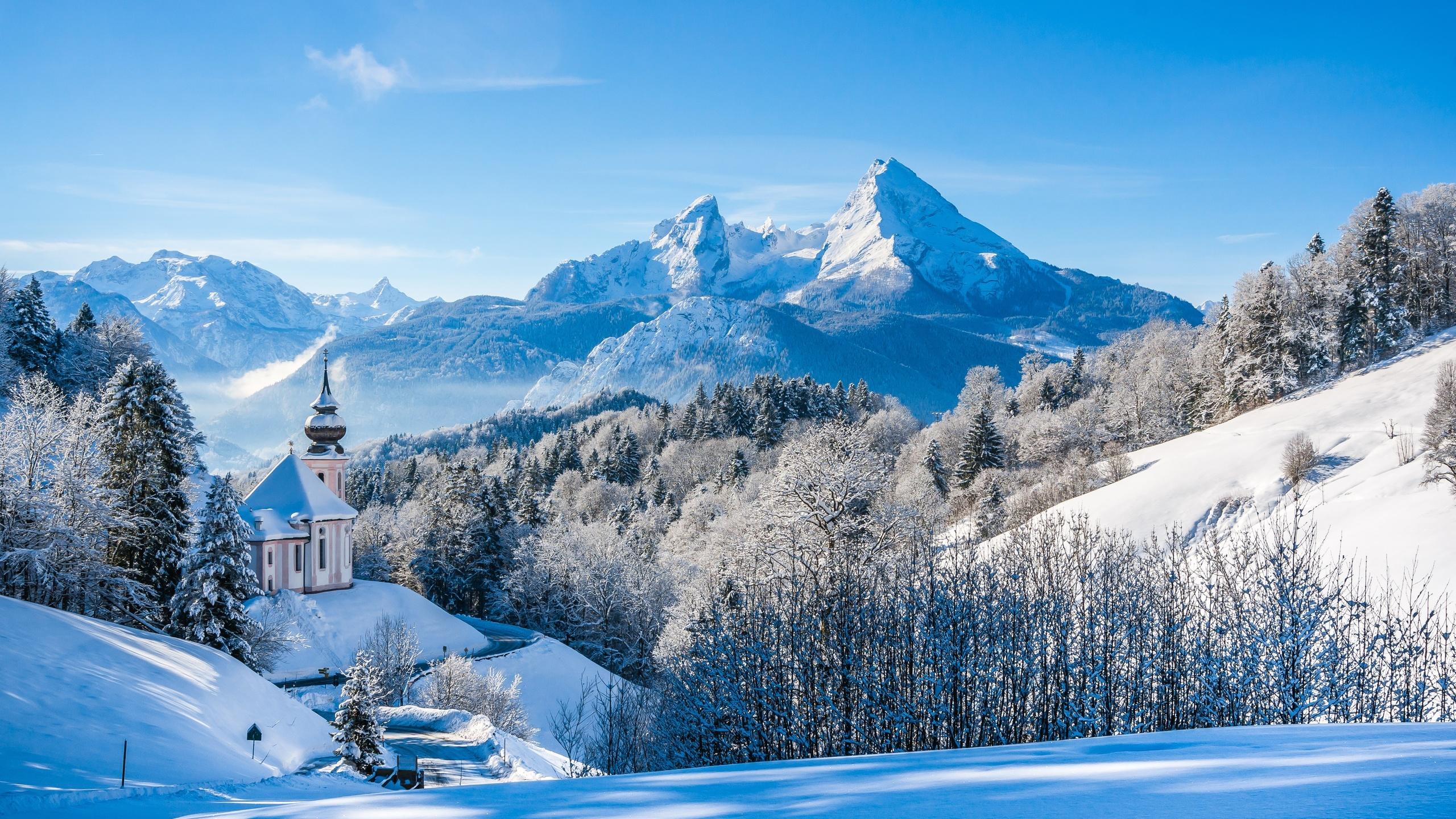 Зимние картинки гор
