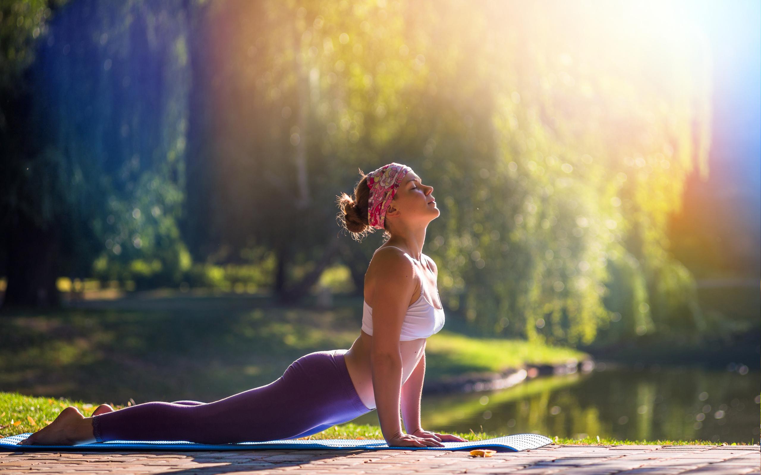 Девушки йога картинки