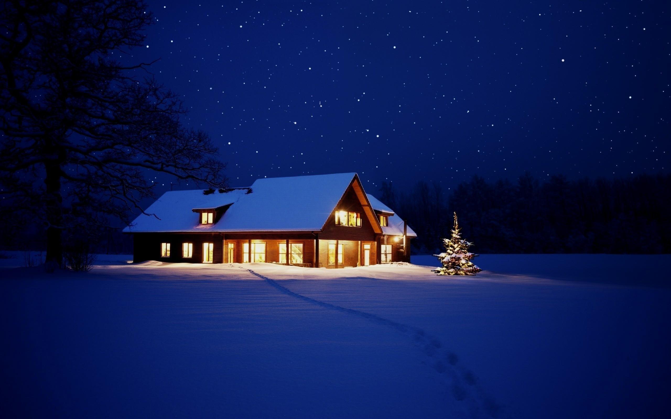 Картинки с зимой дома