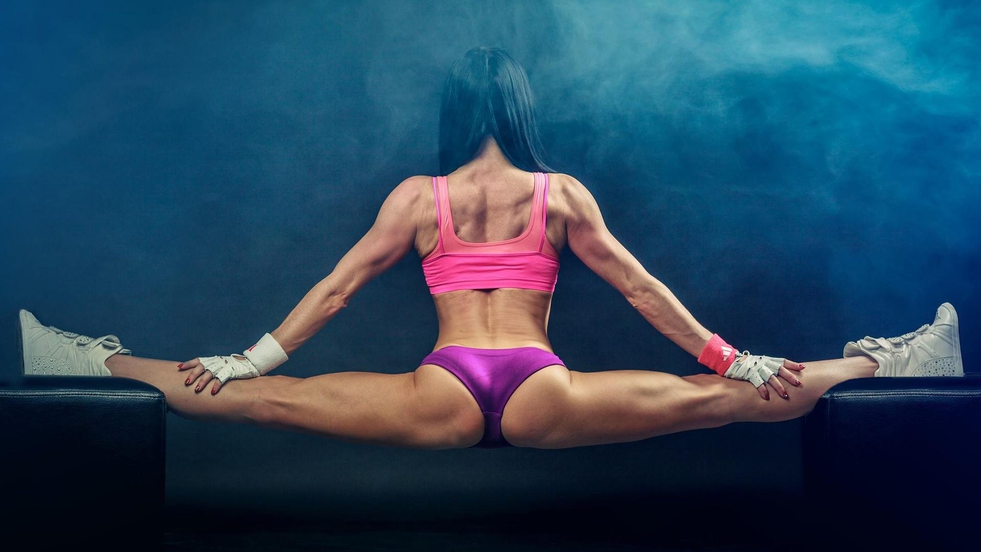 Мотивирующие спортивные картинки для девушек