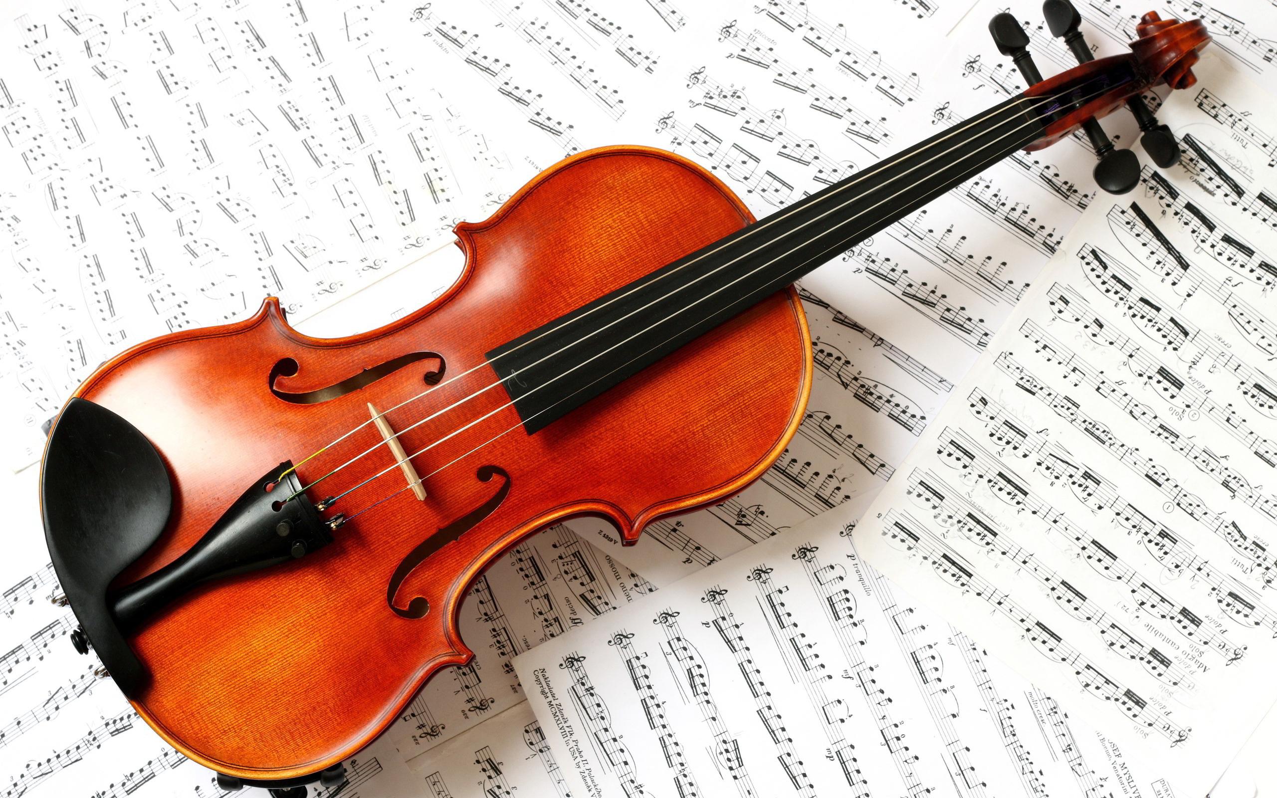Музыку и картинки