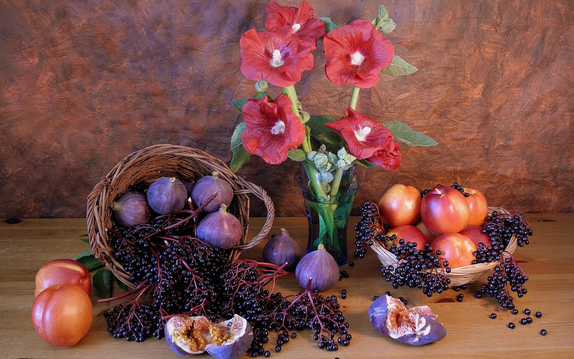 картинки натюрморт с ягодами была