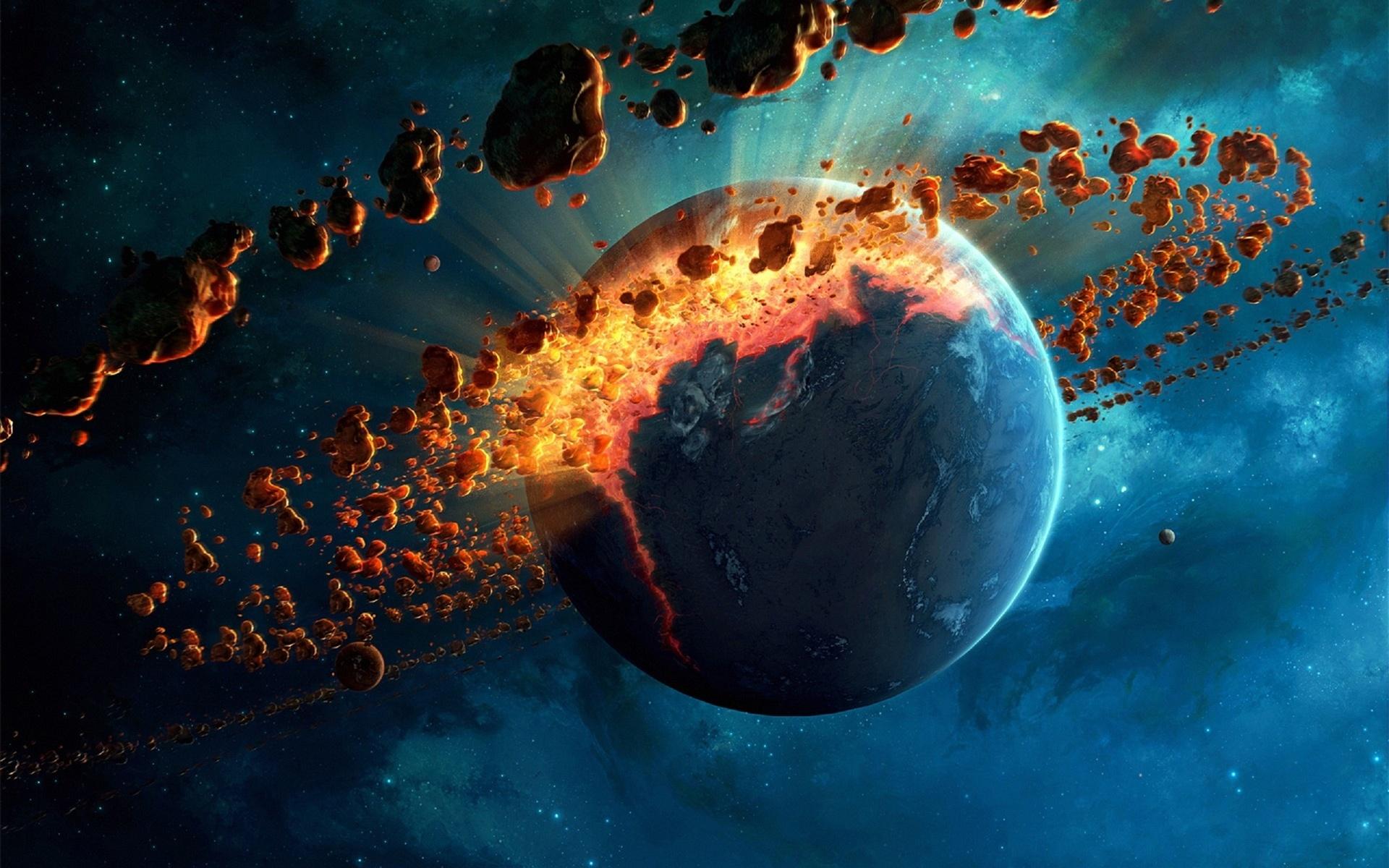 Космос картинки столкновение