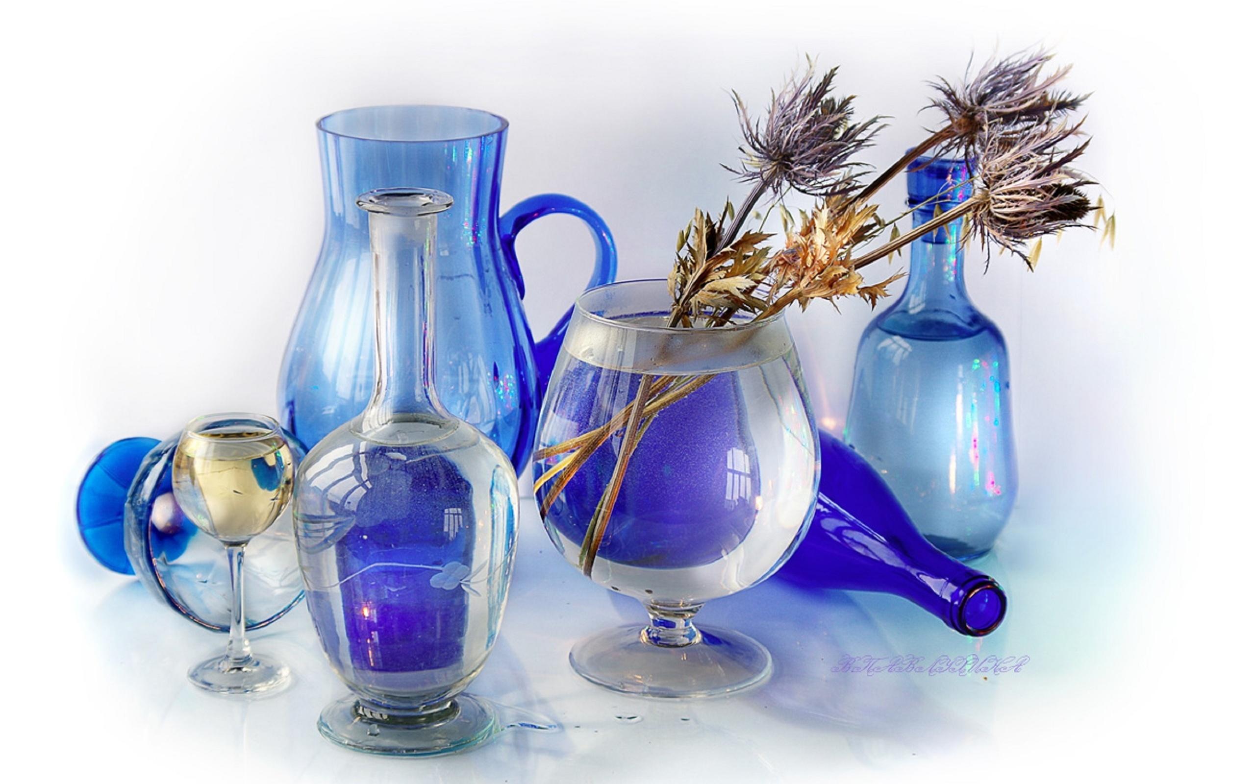 Картинки в голубом цвете с предметами