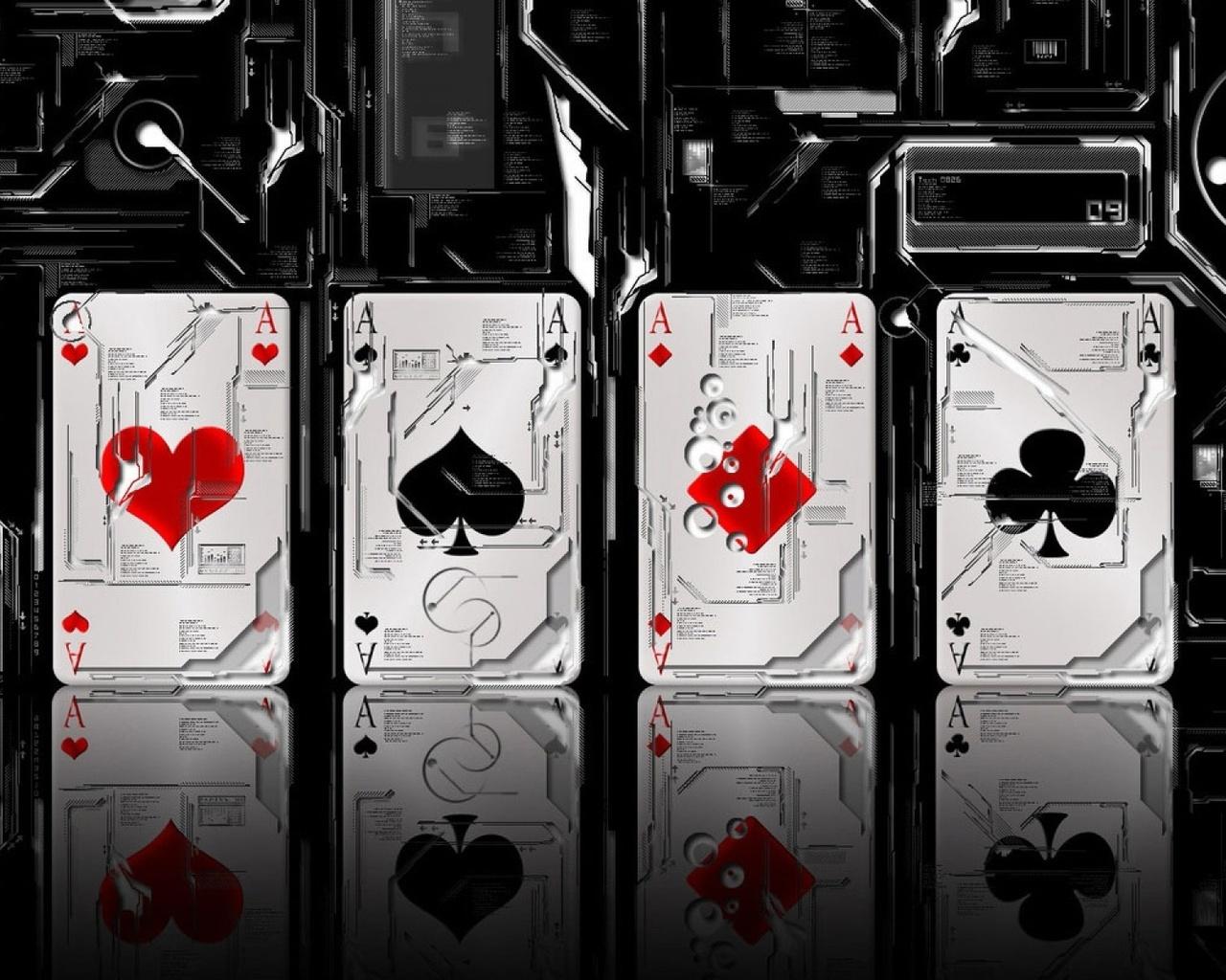 Картинки на телефон игральных картах