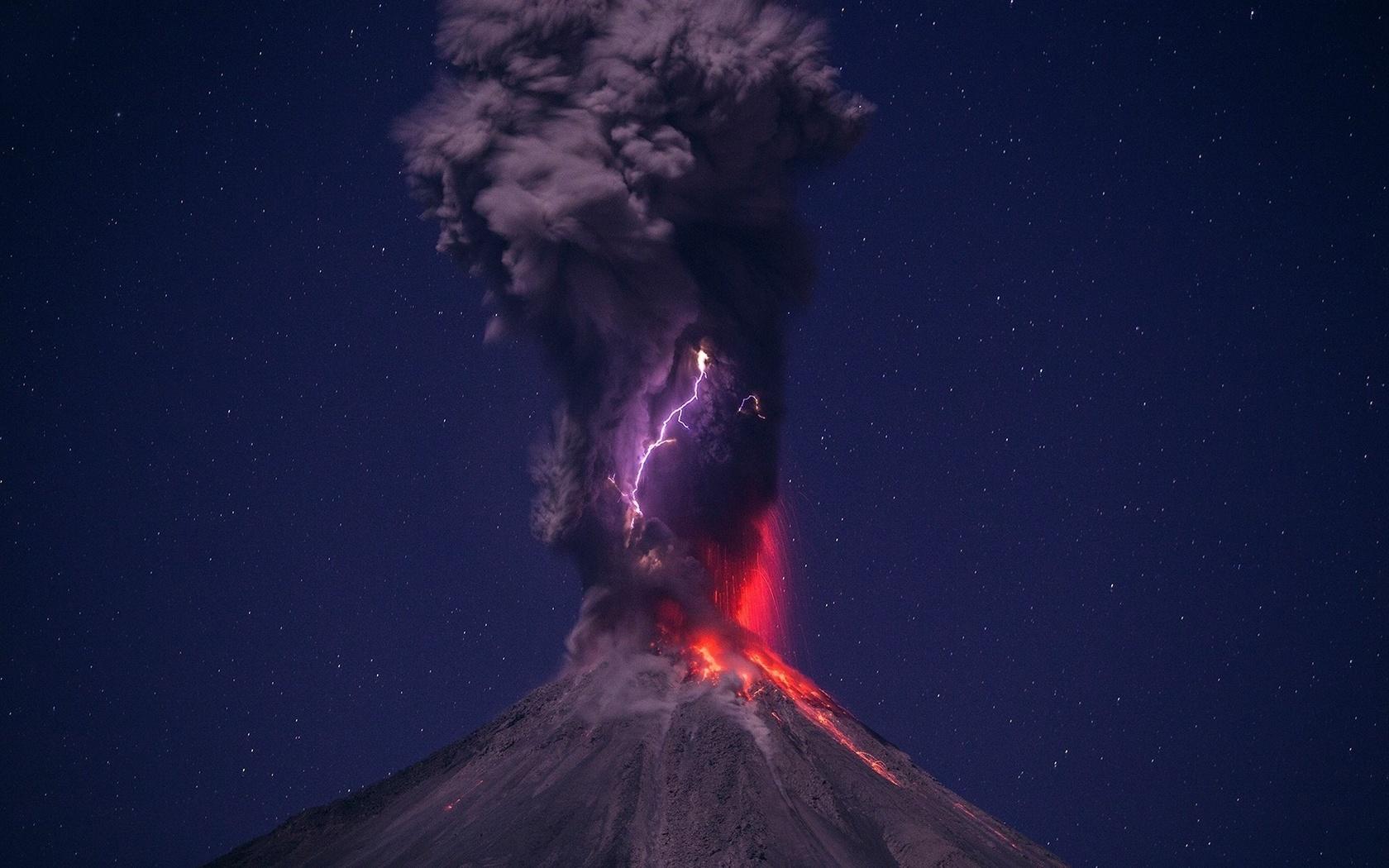 когда графическая картинки вулкана на телефон снять