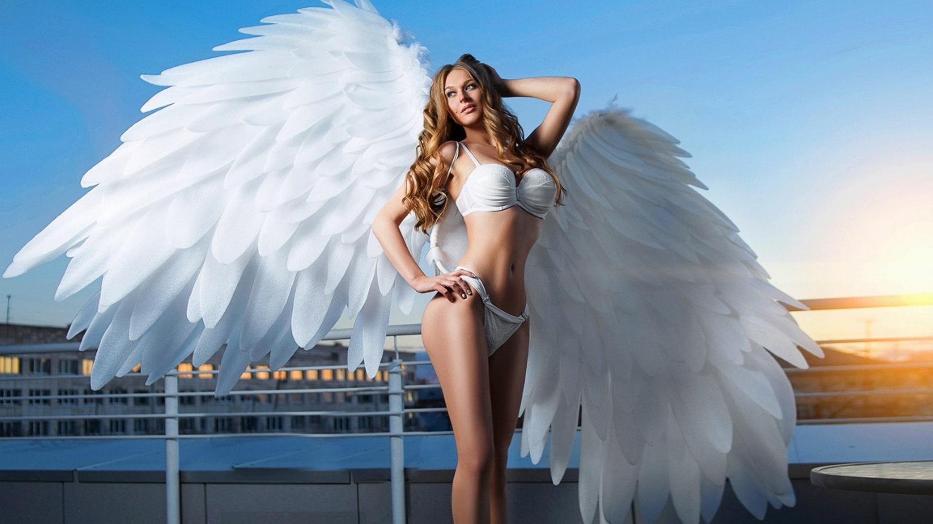 Красивые картинки с ангелами девушками, старых открытках
