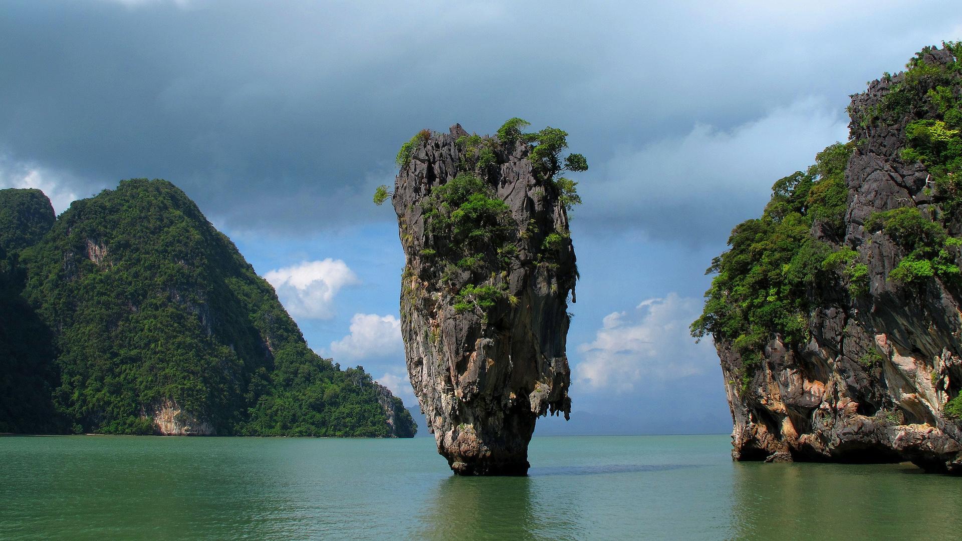 зеленого, тайланд картинки для экрана утро