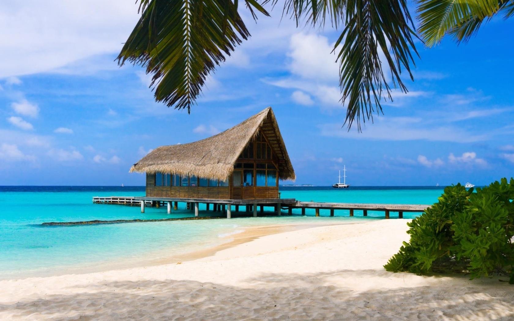 Самая красивая картинка пляж