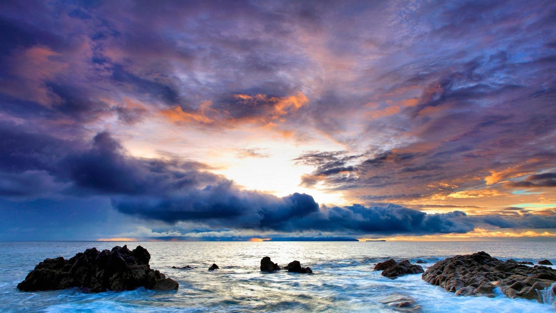 Пейзаж моря картинка