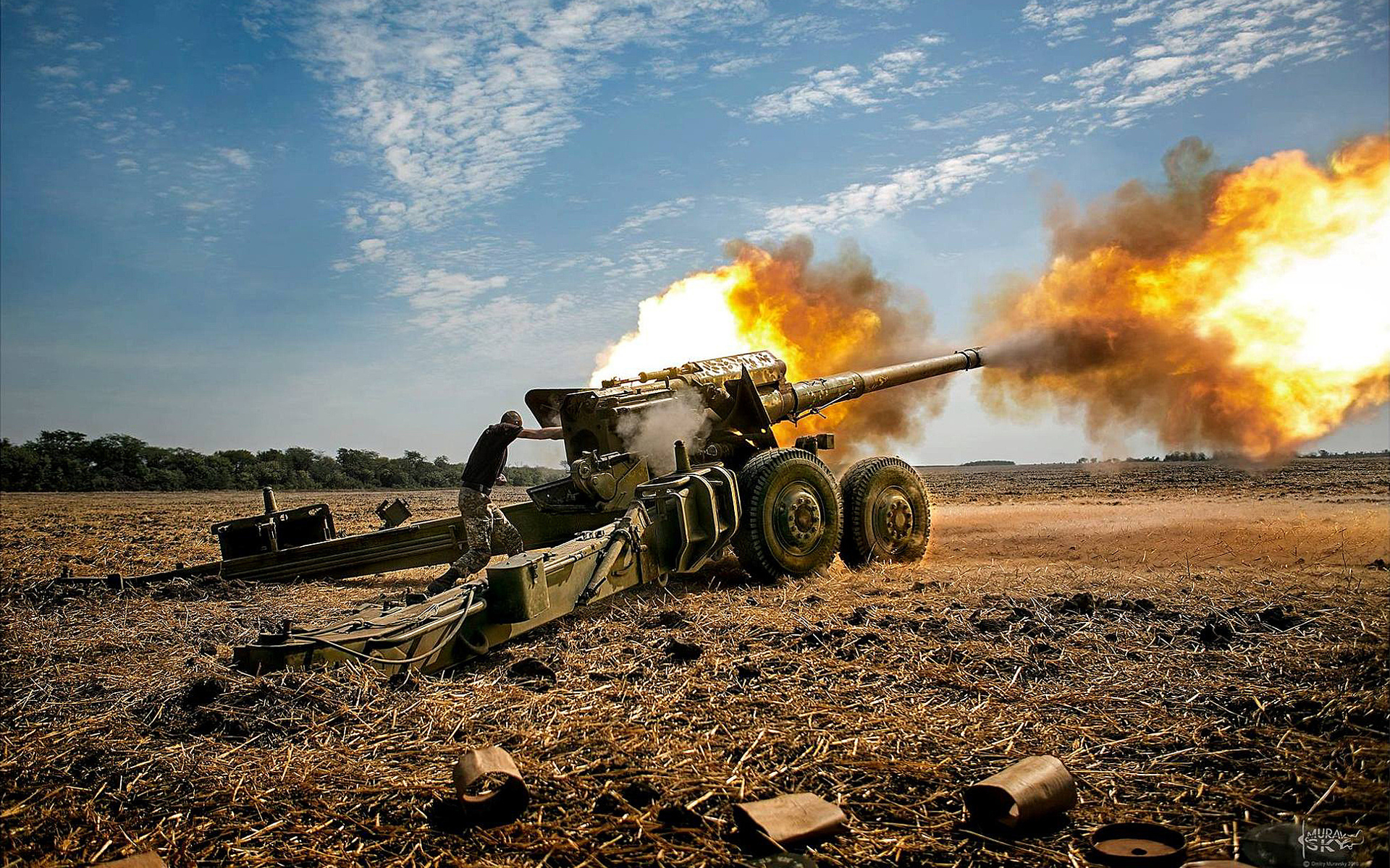 Открытки артиллерийские