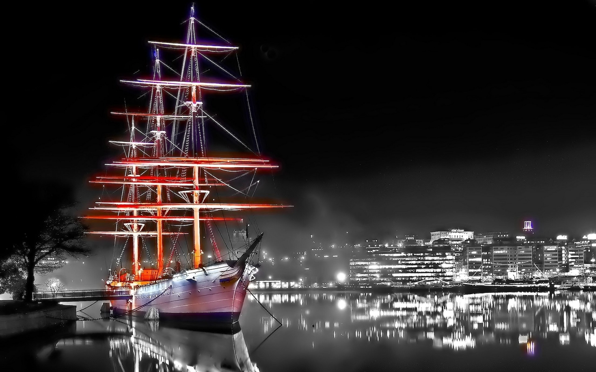картинка корабль на телефон обои ищет