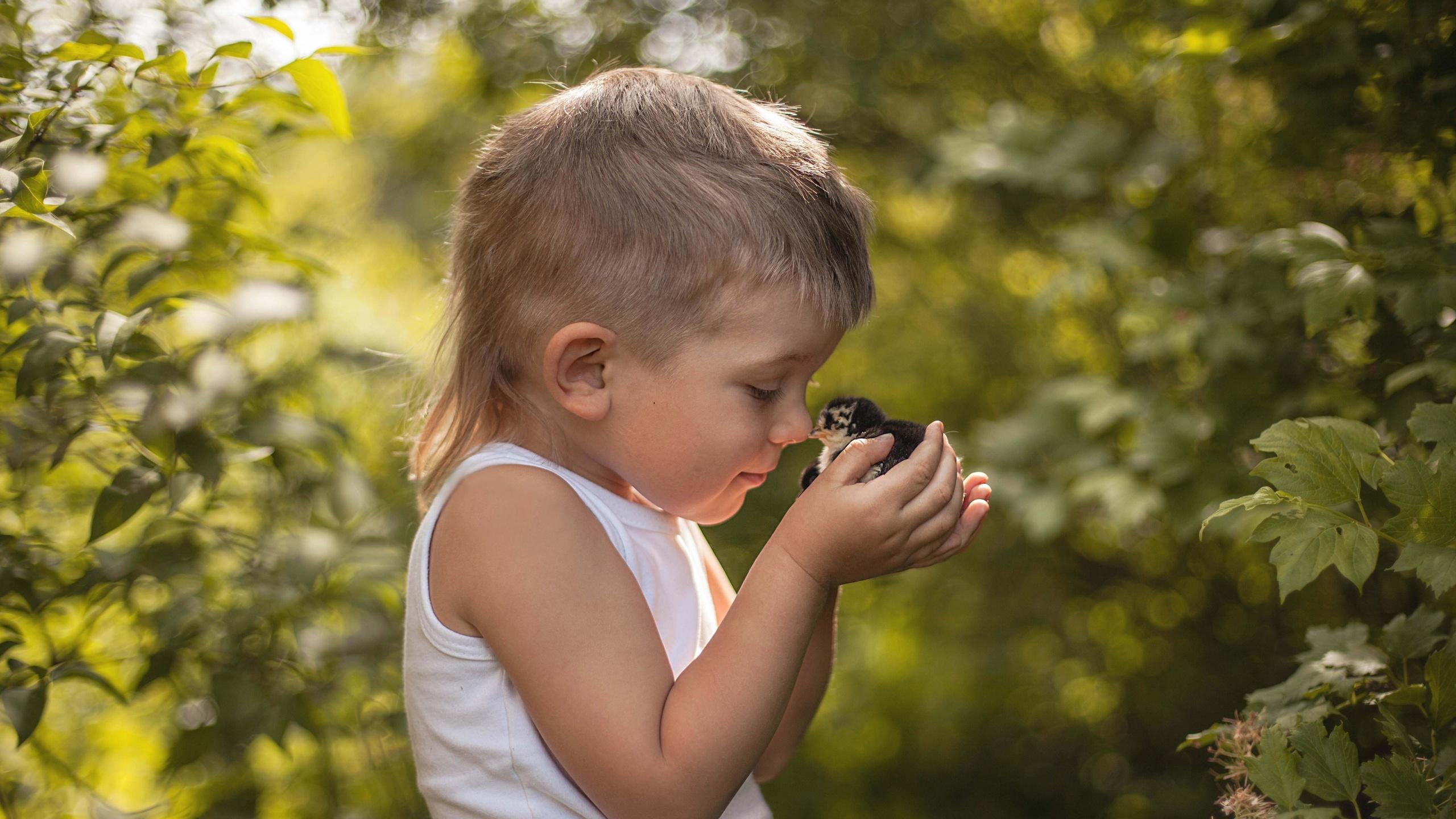 Дети с природой картинки