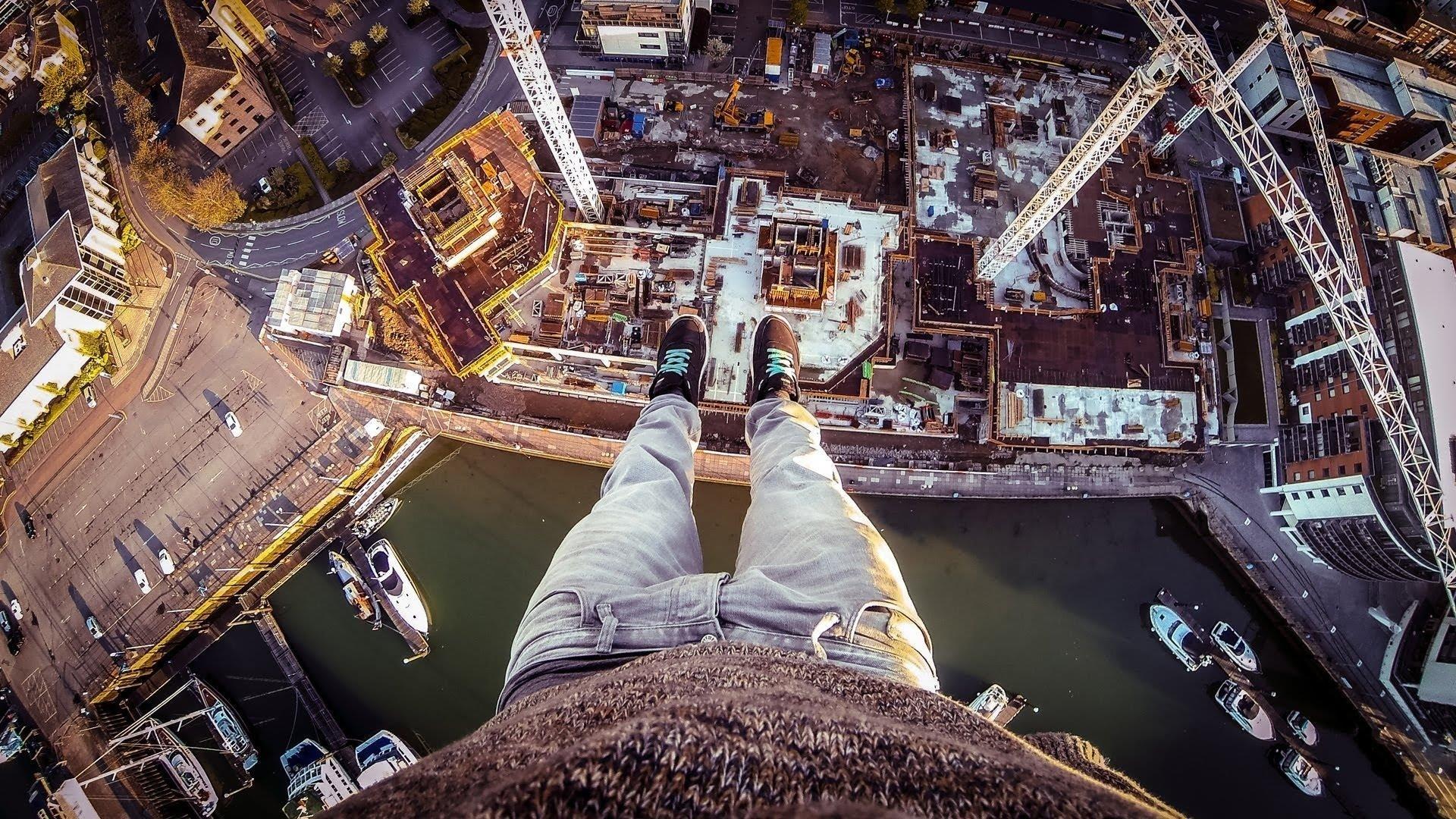 Картинка смотрю с высока на мир
