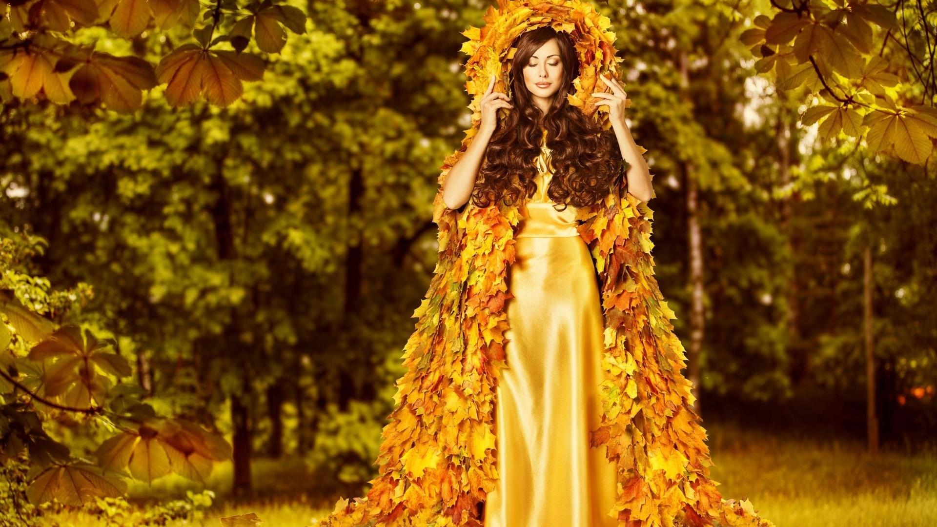 королева осень картинки фото