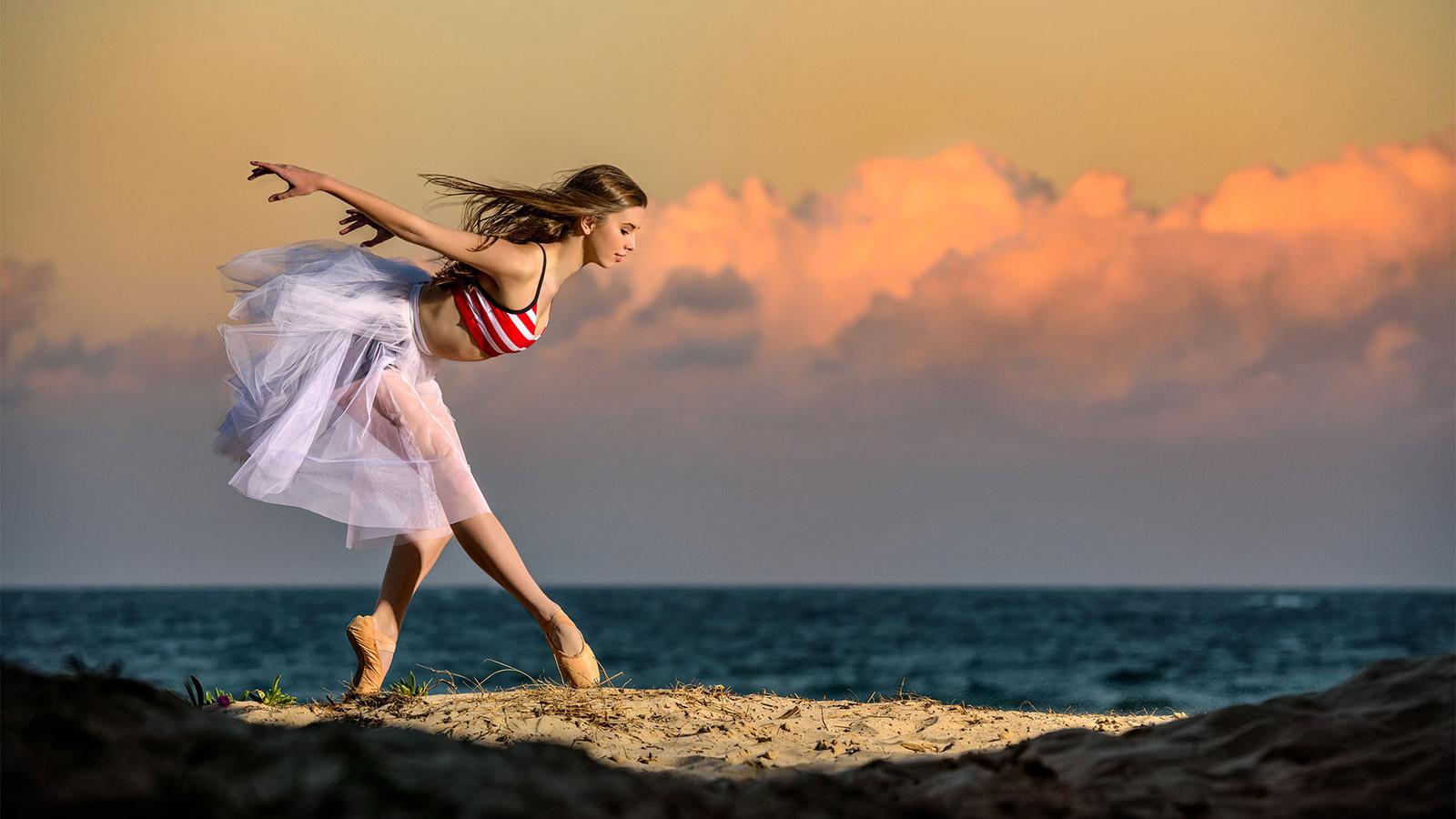 Красивые картинки девушек танцы