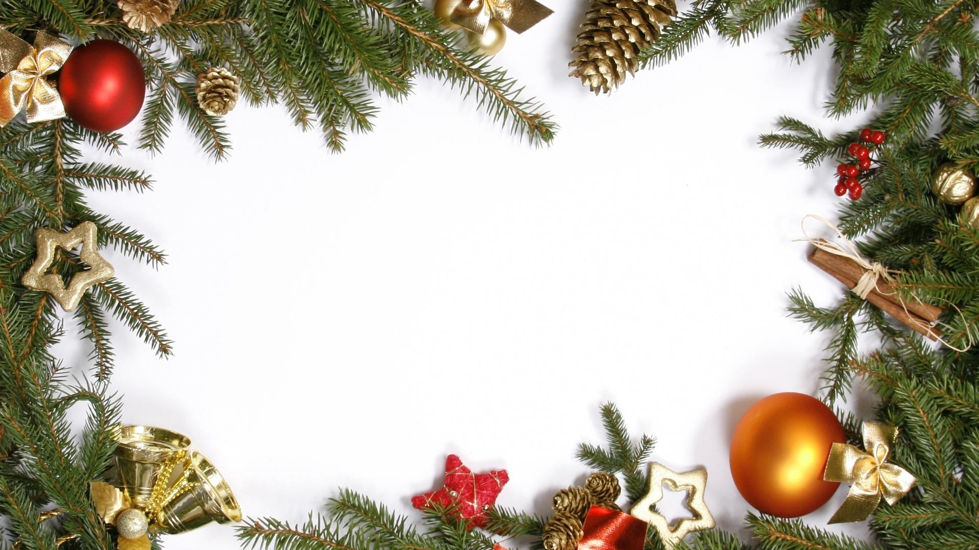 Картинки елочные ветки новогодние