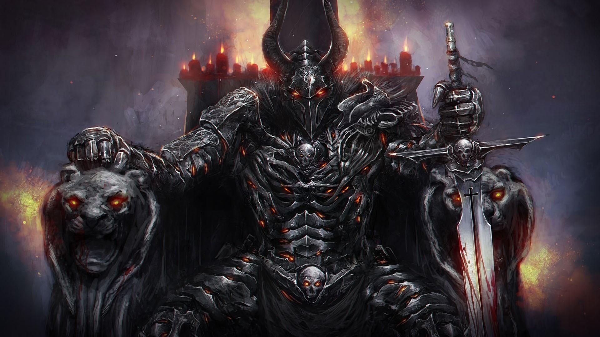 Картинки злого воина