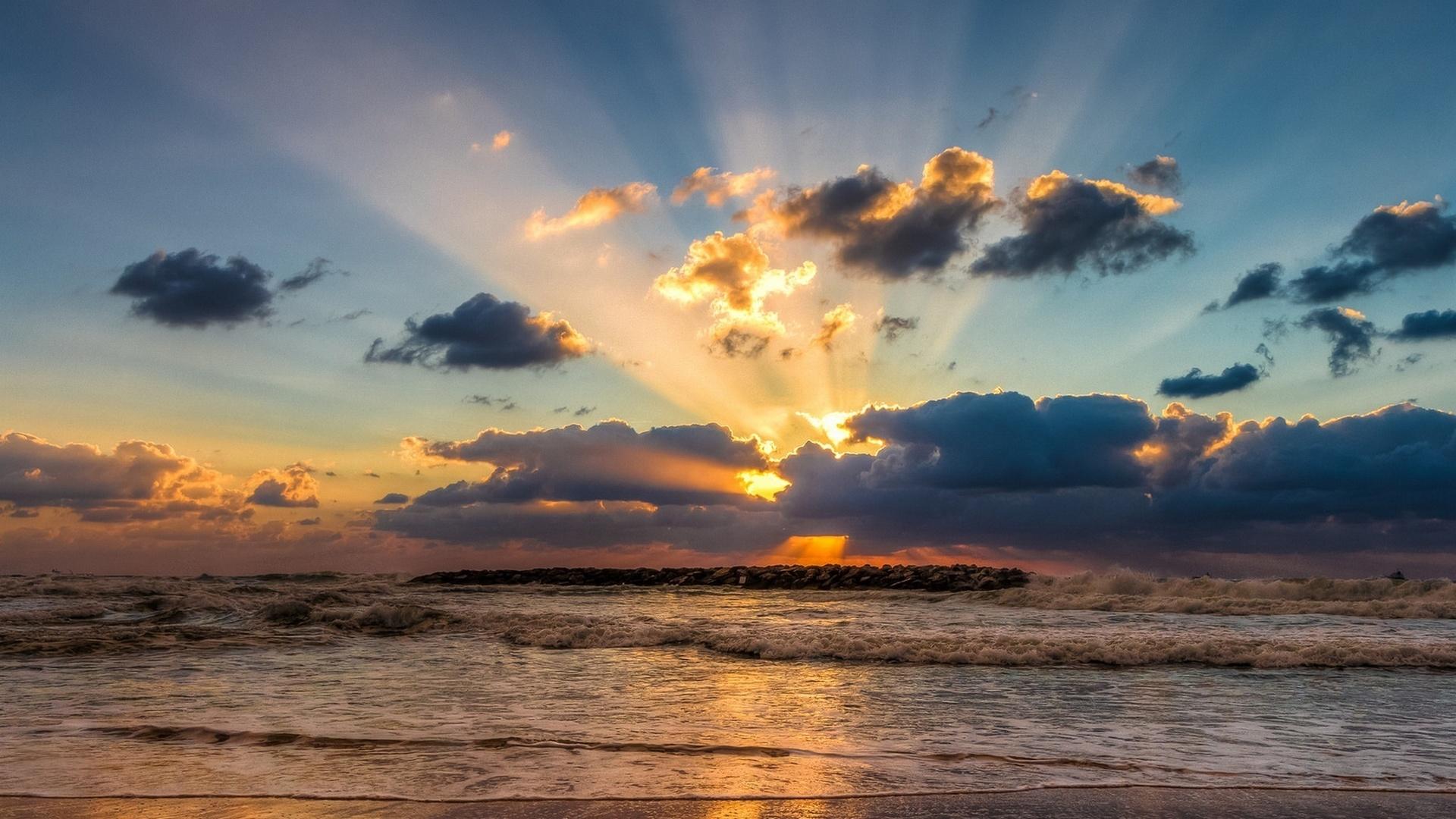 Картинки море небо солнце