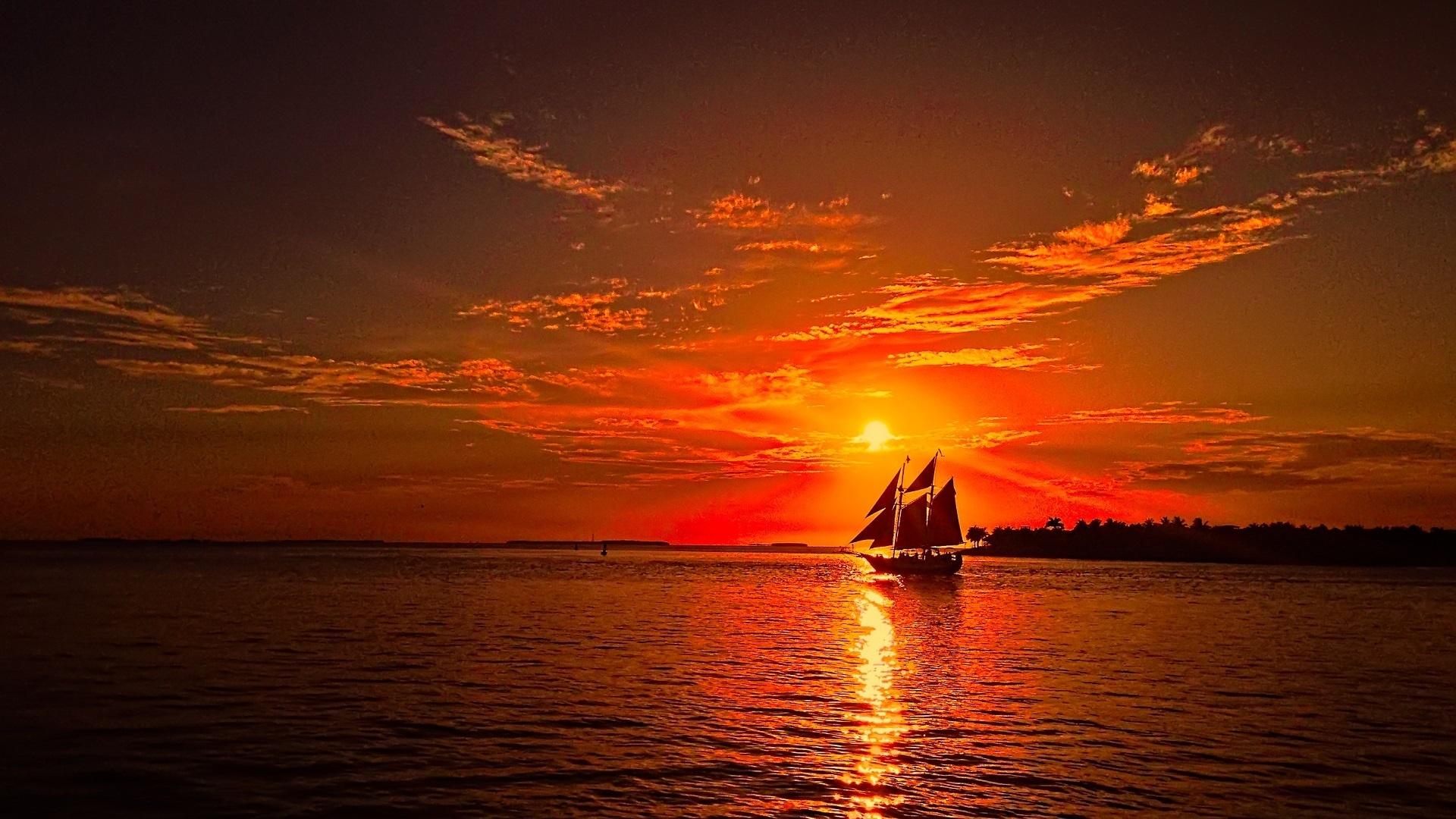 море корабли закаты картинки позже стали