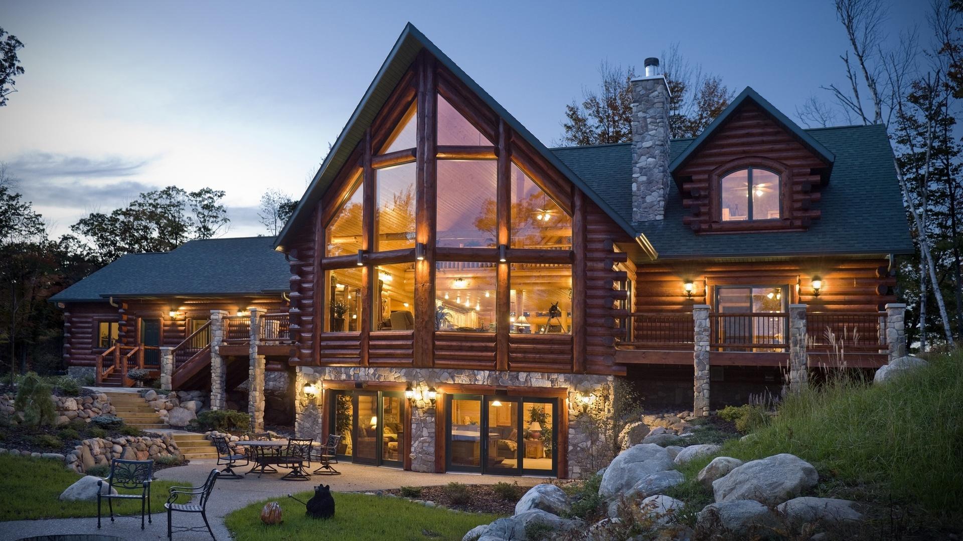 картинки с красивыми загородными домами куда приятнее