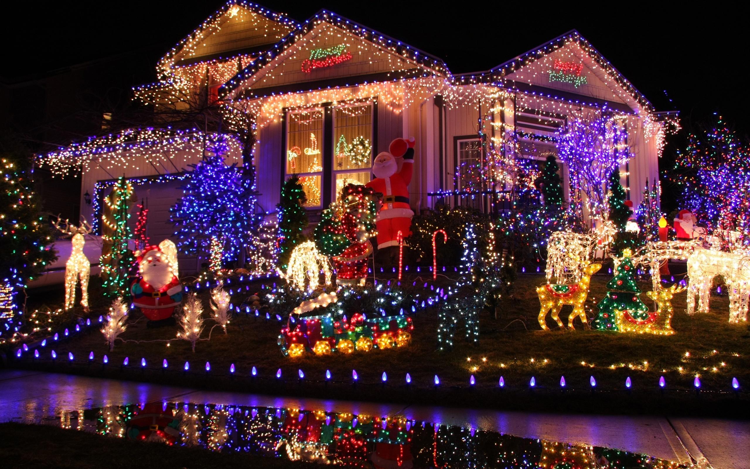 Дом к новому году в картинках