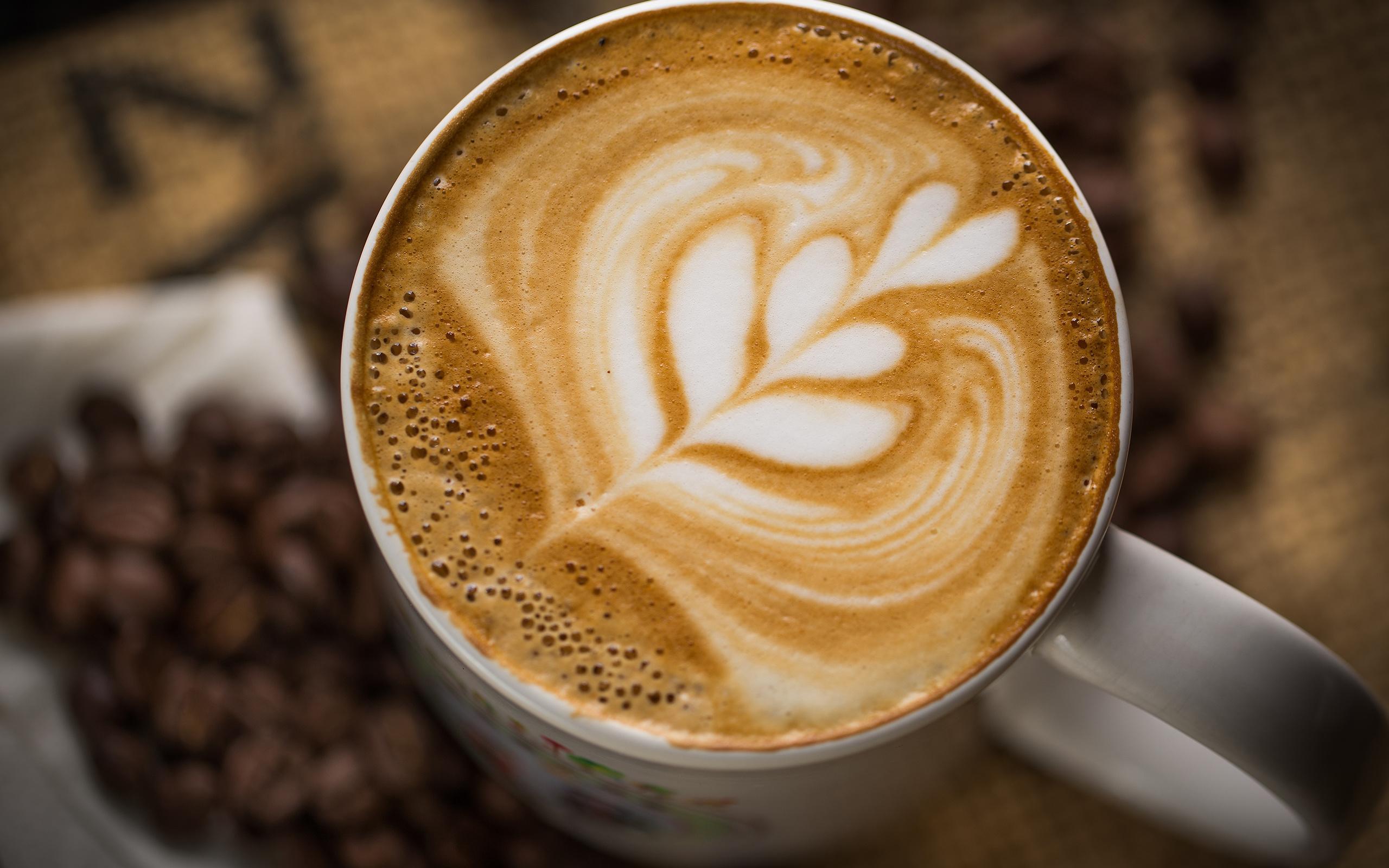 Картинки из капучино кофе