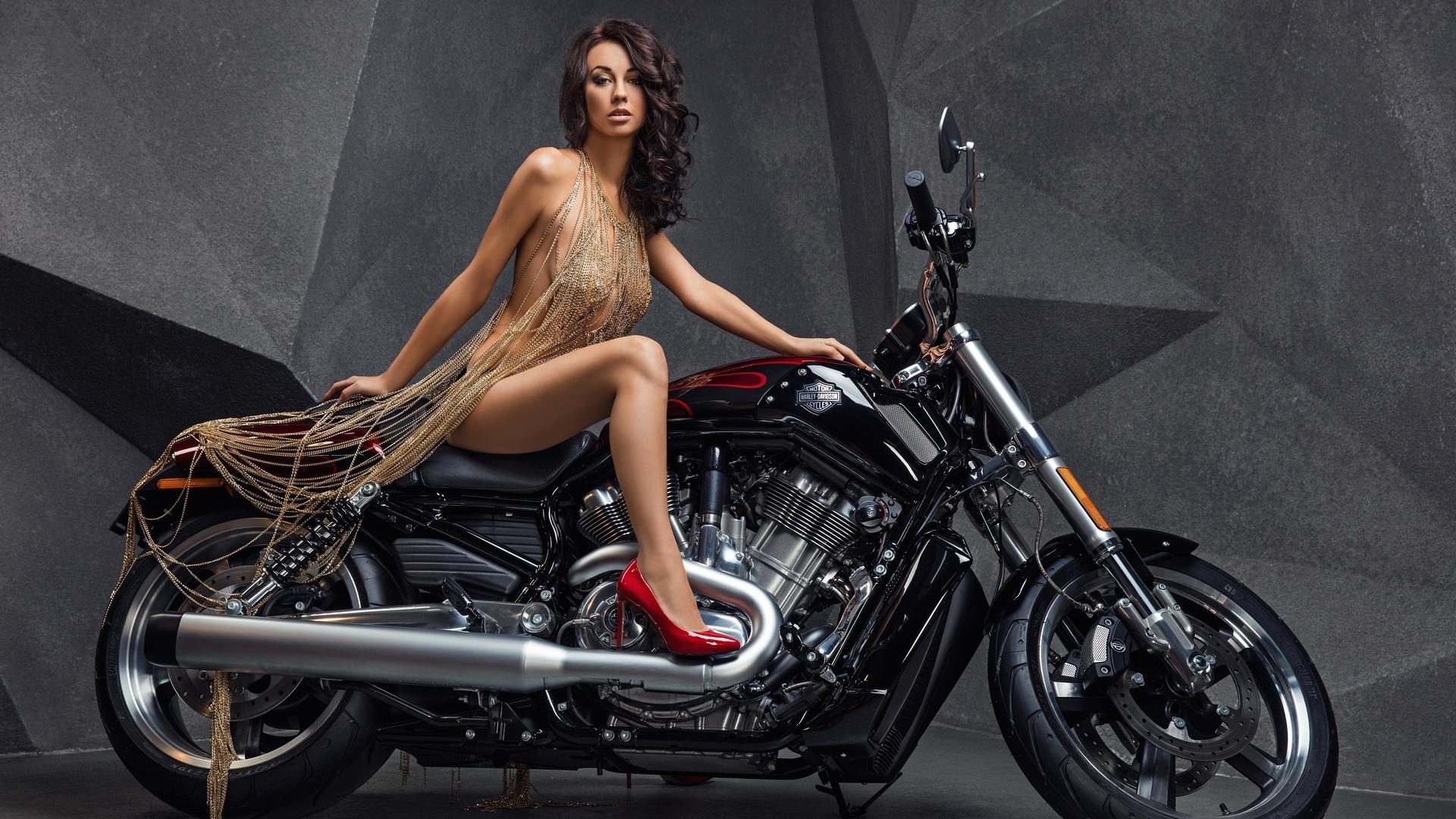 Harley davidson swimsuit model — pic 8