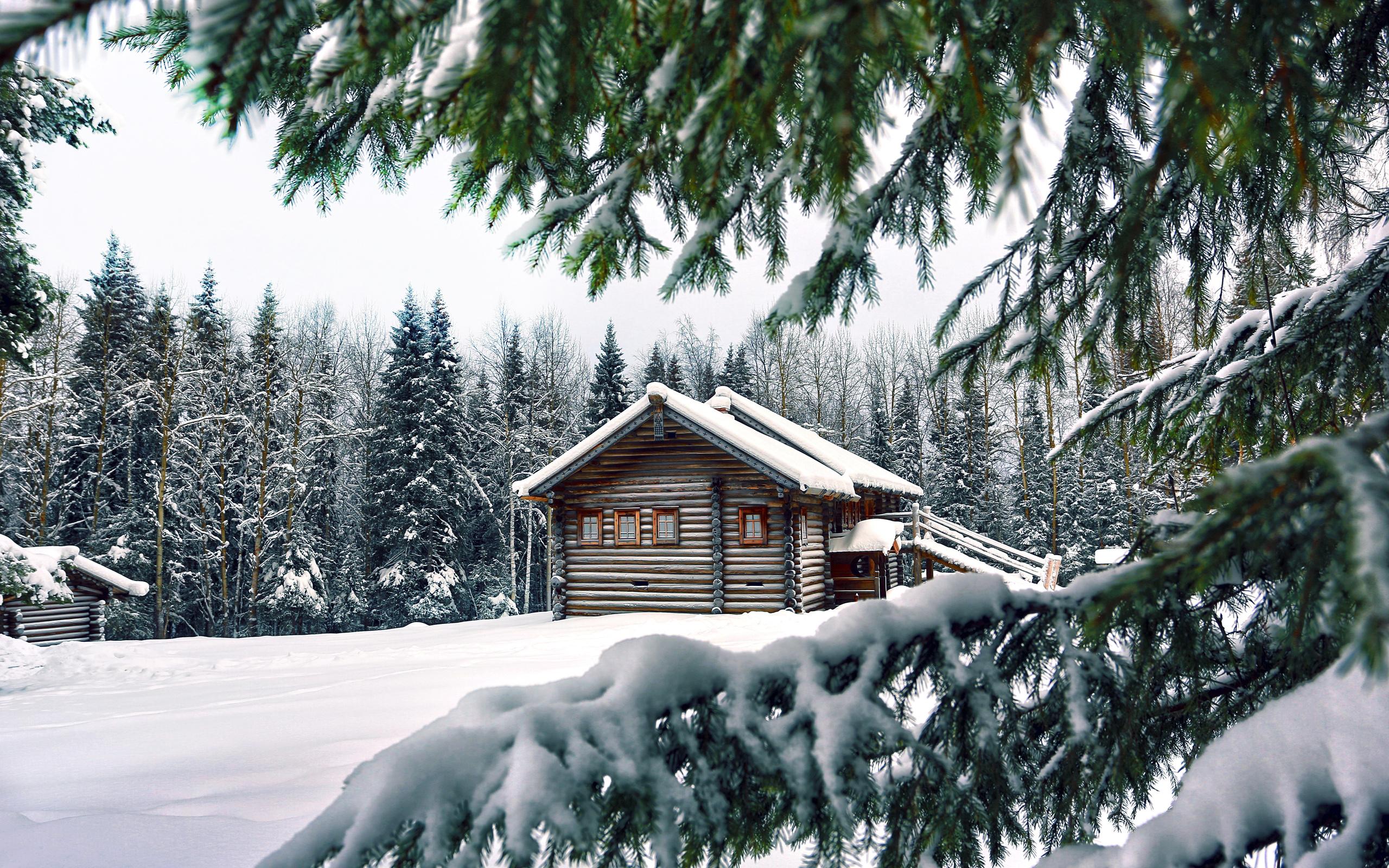 картинка домика в снегу въехать как